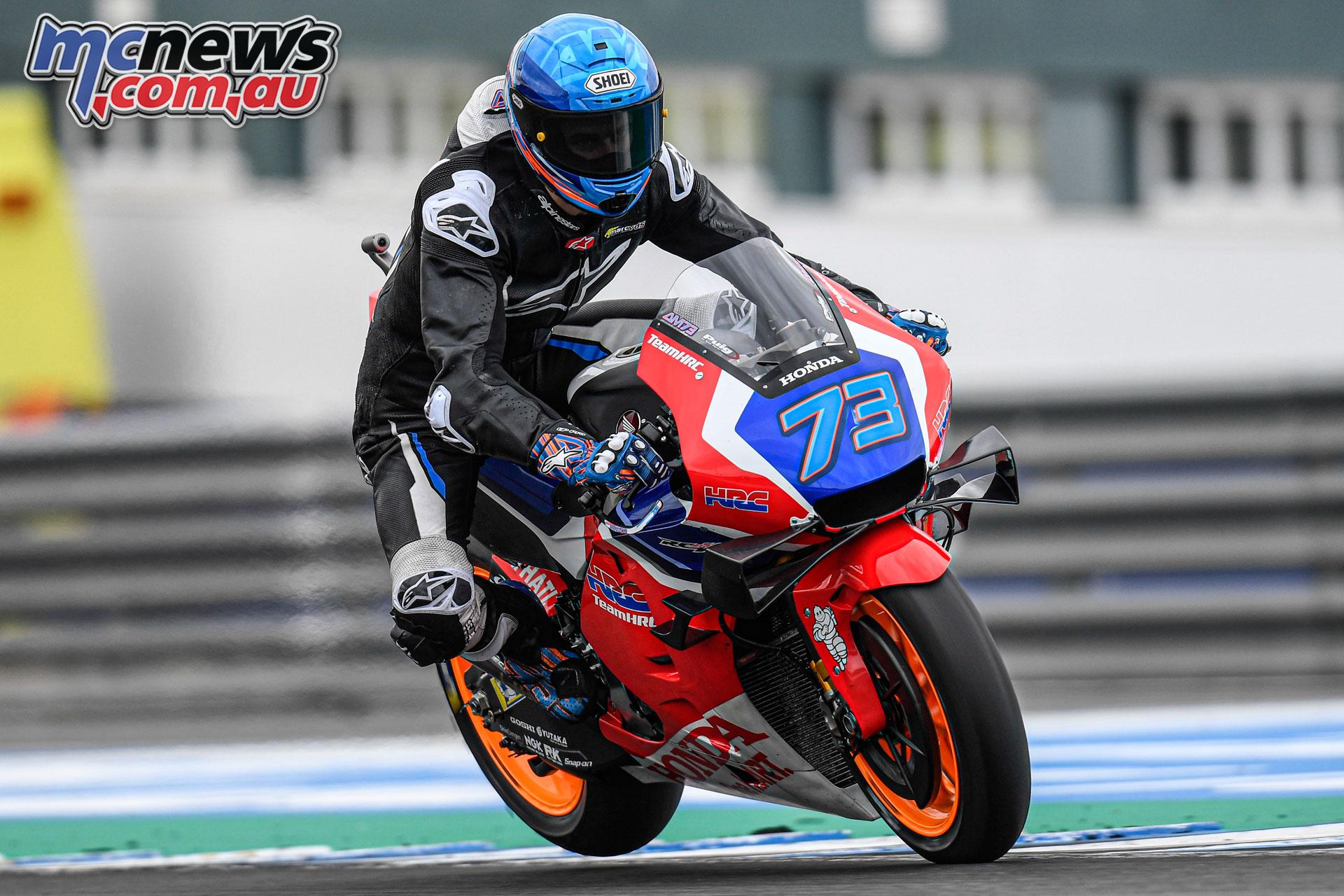 MotoGP Test Jerez Nov Alex Marquez