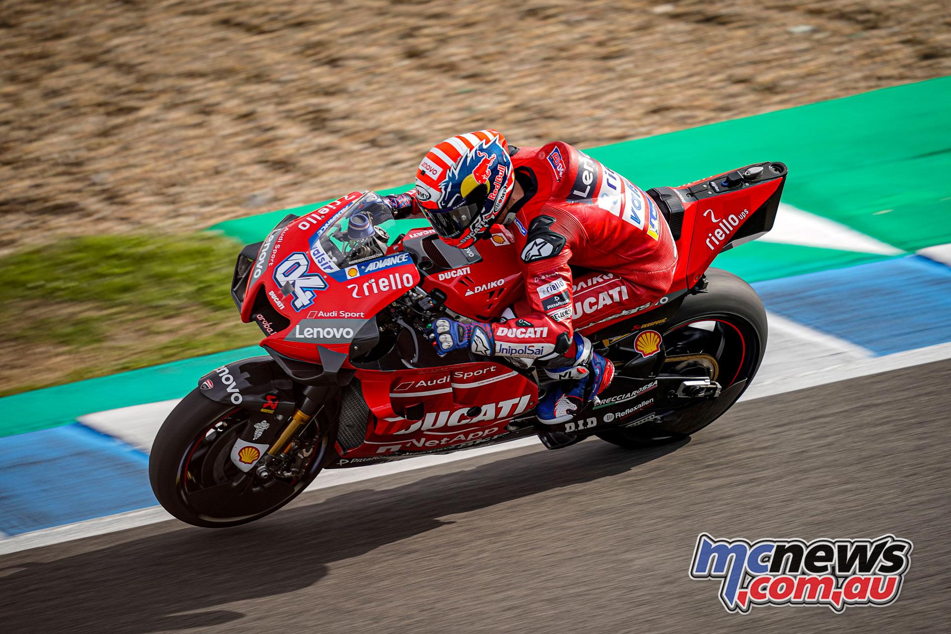 MotoGP Test Jerez Nov Andrea Dovizioso