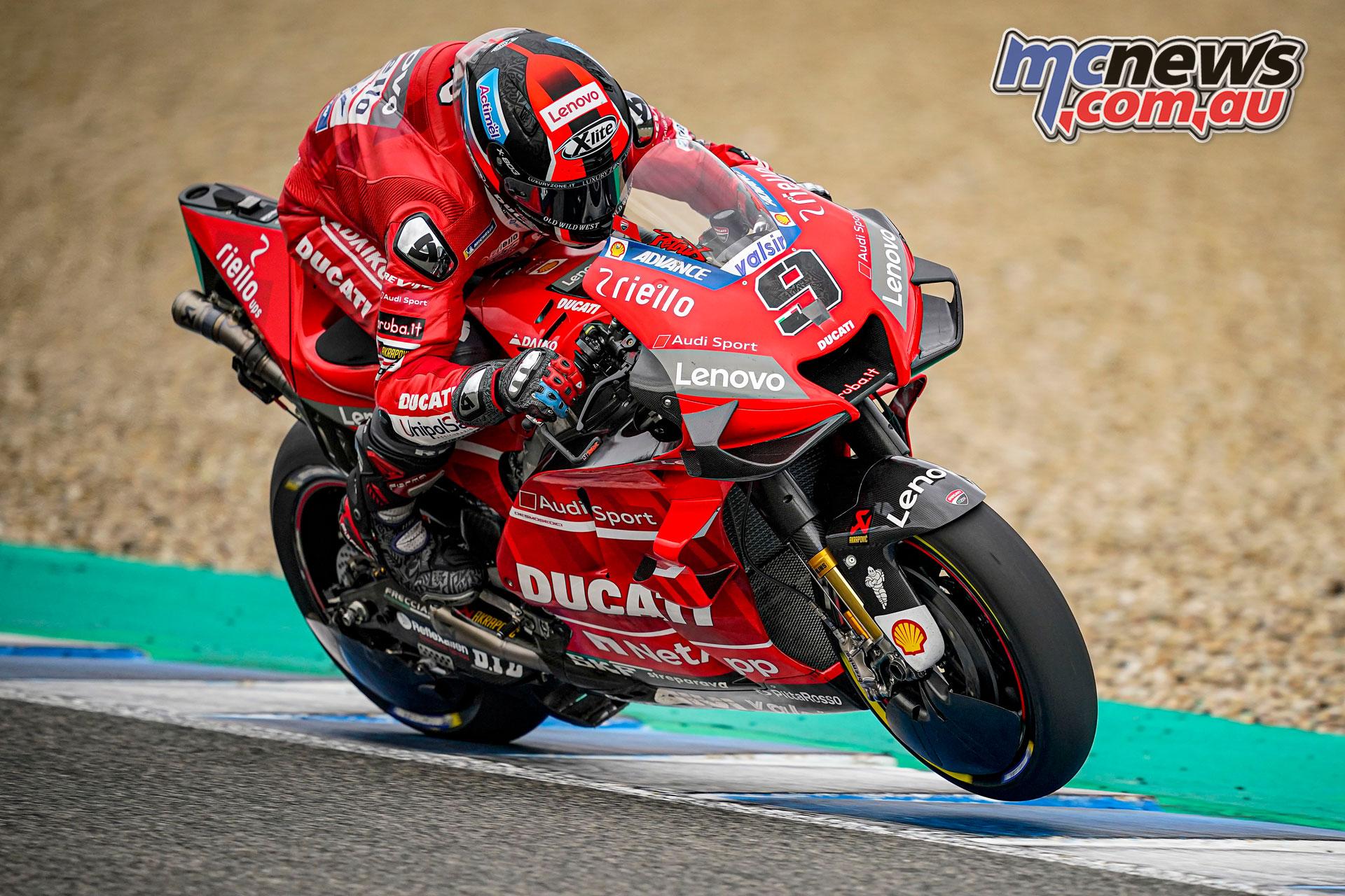 MotoGP Test Jerez Nov Danilo Petrucci