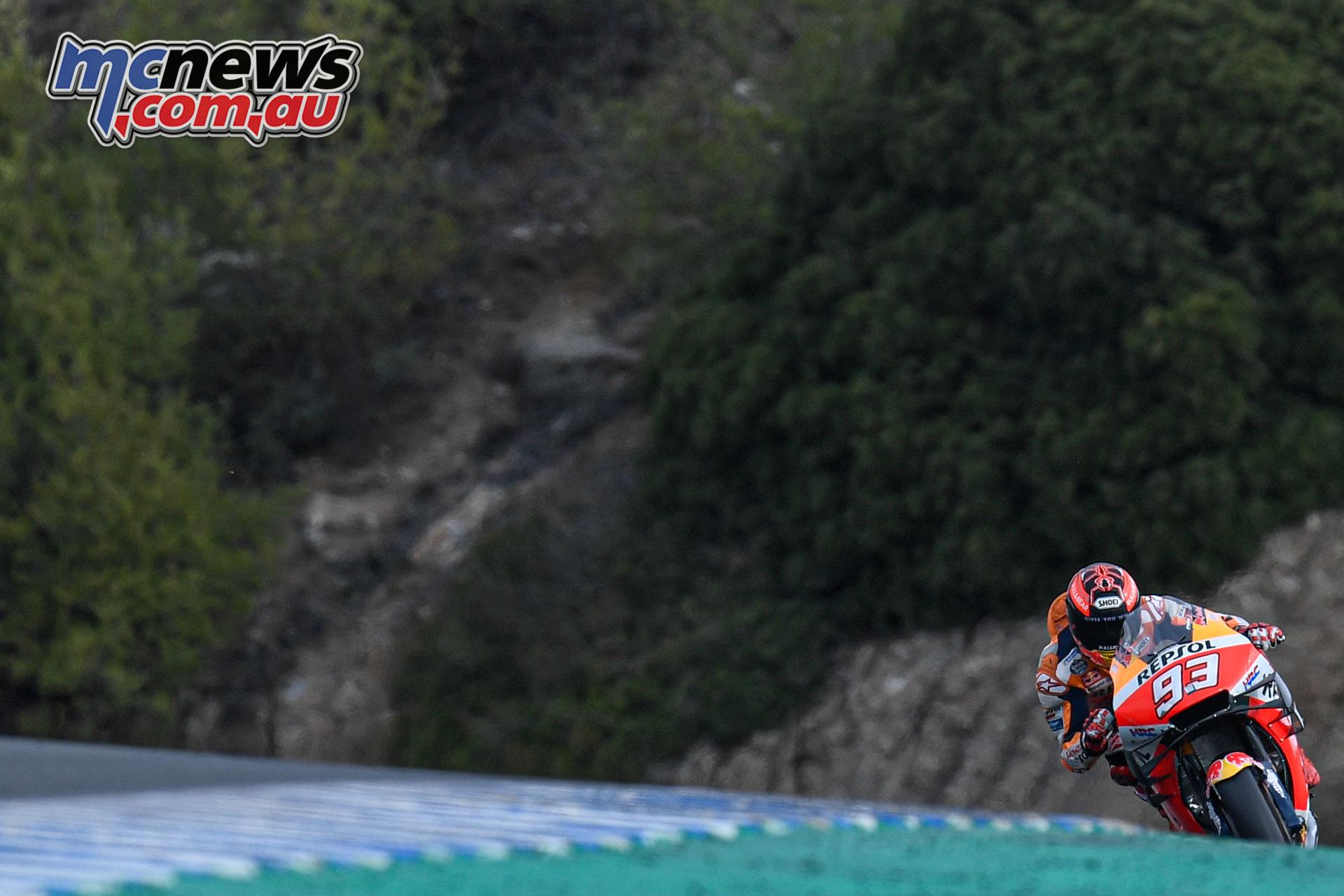 MotoGP Test Jerez Nov Marc Marquez