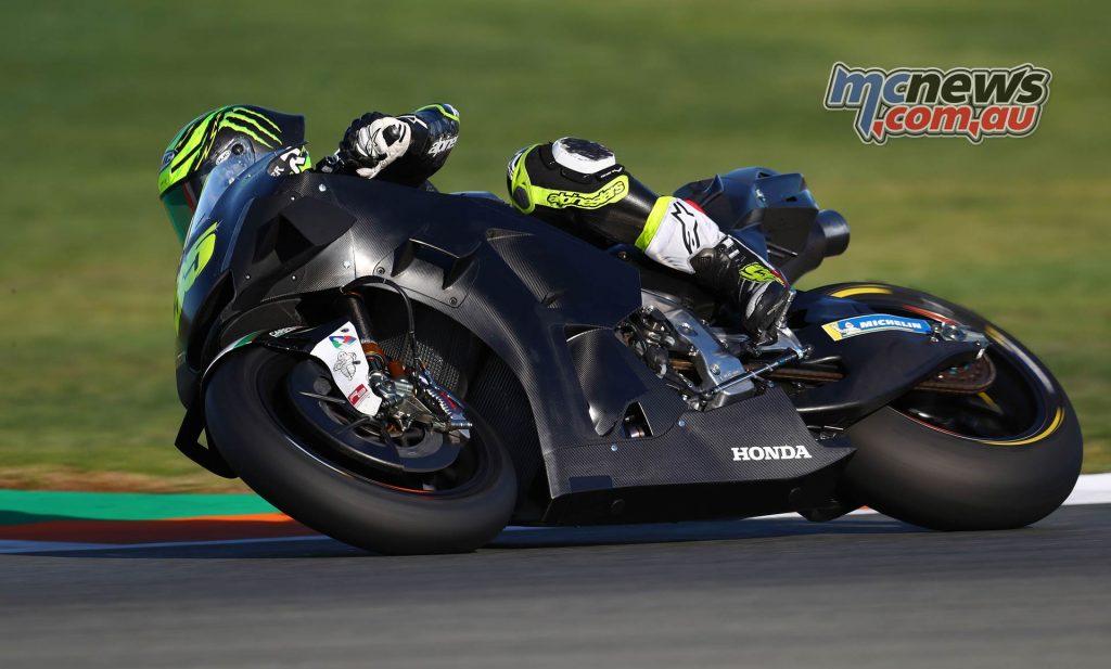 MotoGP Test Valencia Crutchlow GPT AN