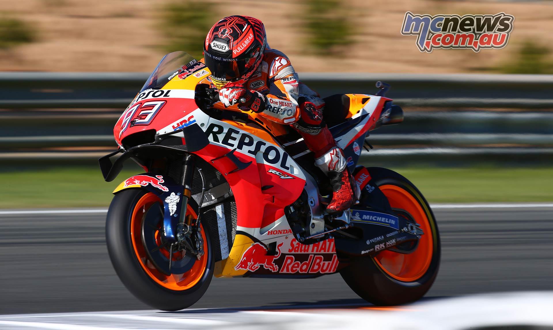 MotoGP Test Valencia Marquez GPT AN