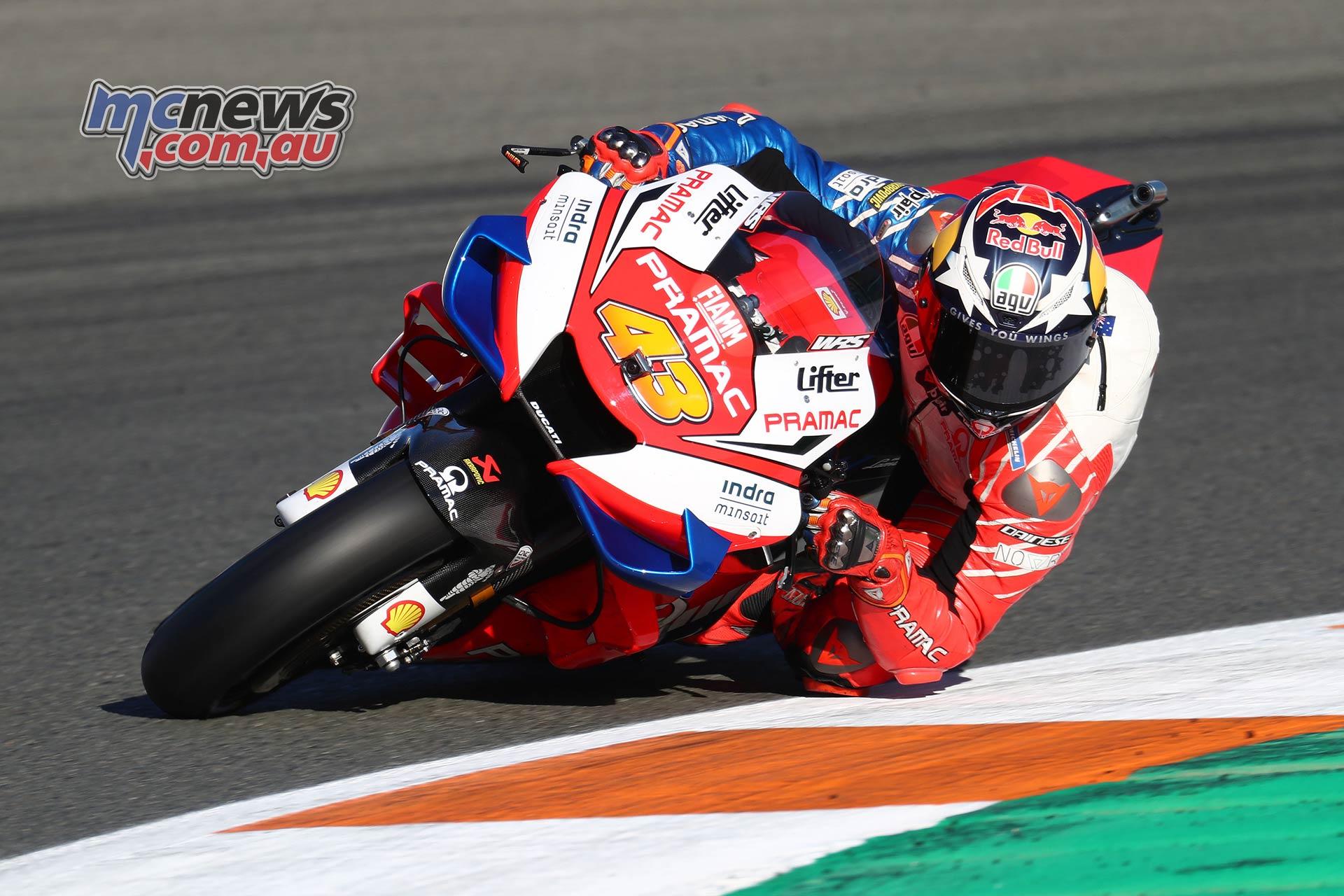 MotoGP Test Valencia Miller GPT AN