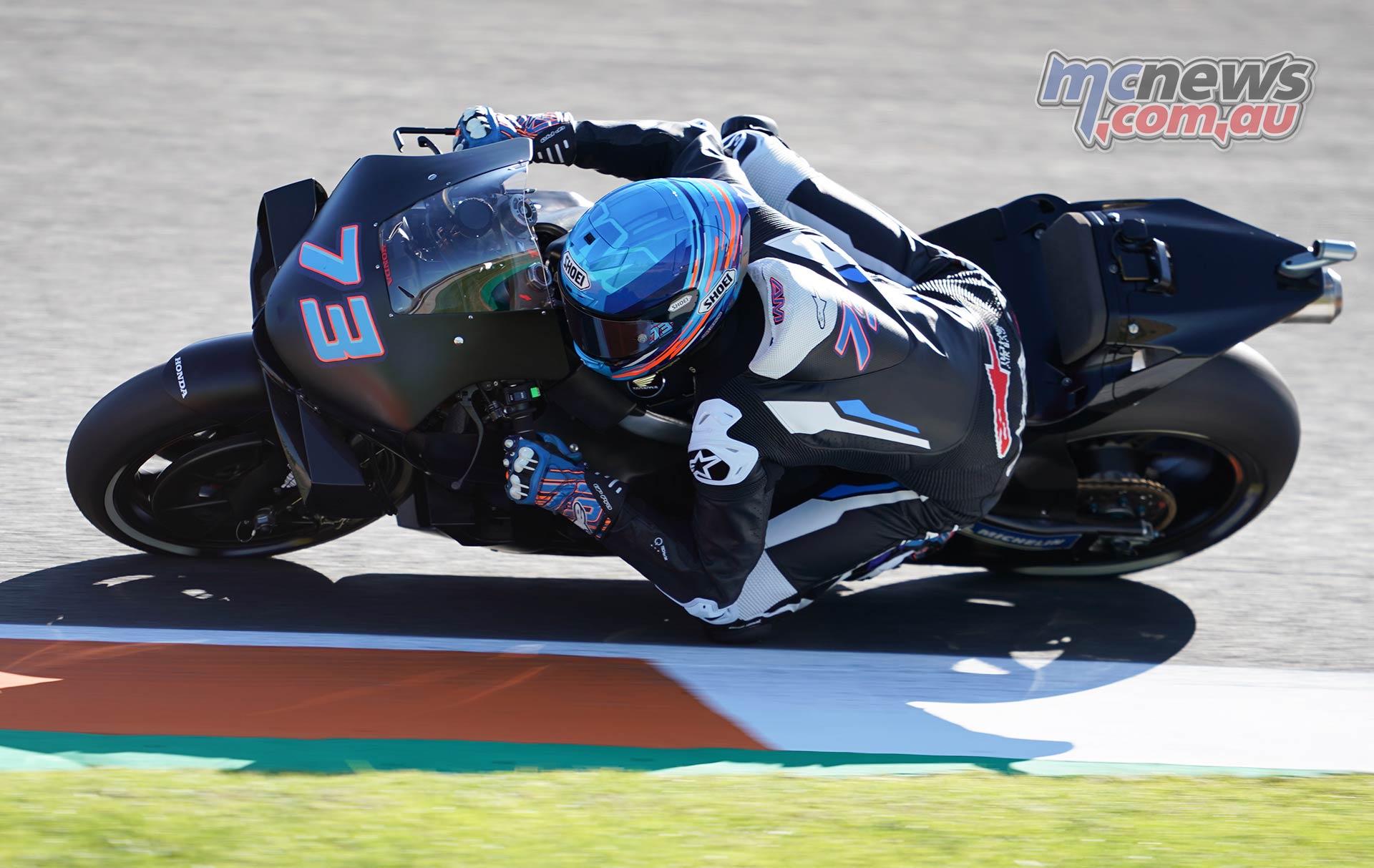 MotoGP Testing Valencia Day Alex Marquez