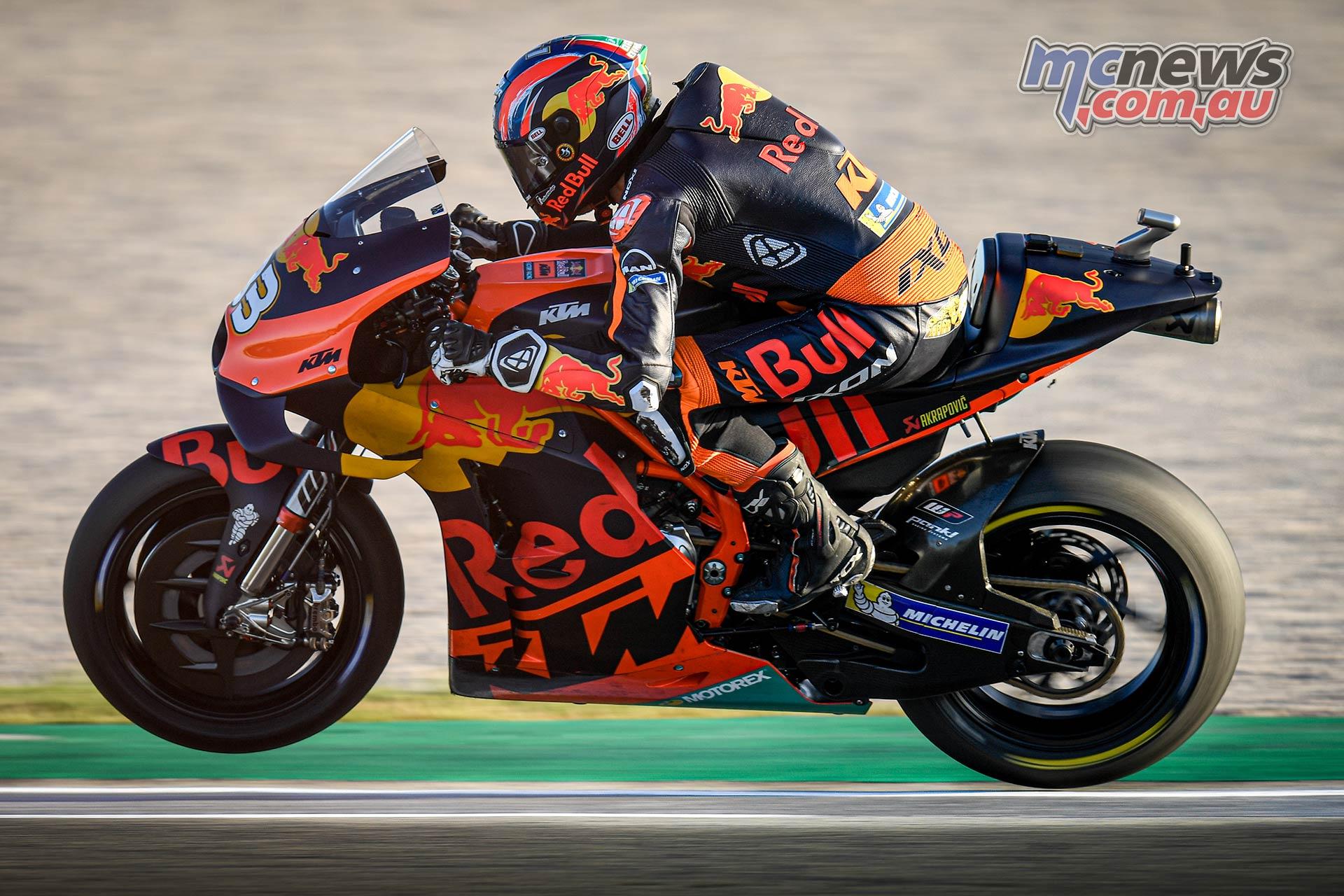 MotoGP Testing Valencia Day Binder