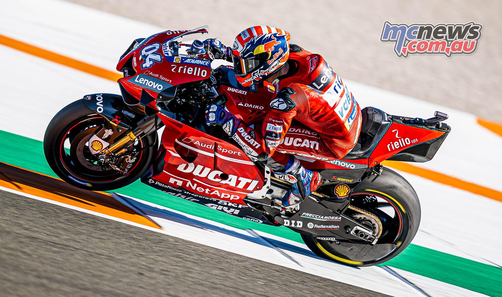 MotoGP Testing Valencia Day Dovizioso