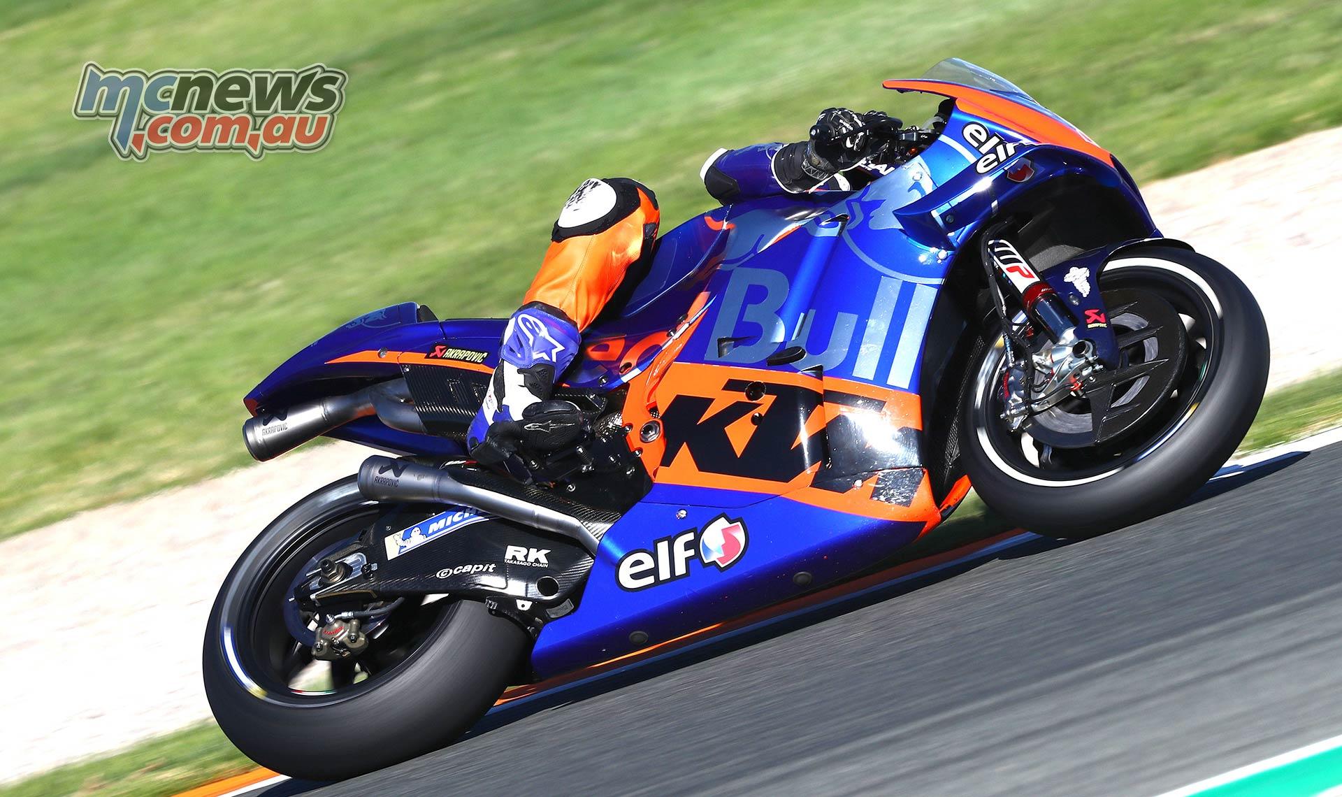 MotoGP Testing Valencia Day Lecuona