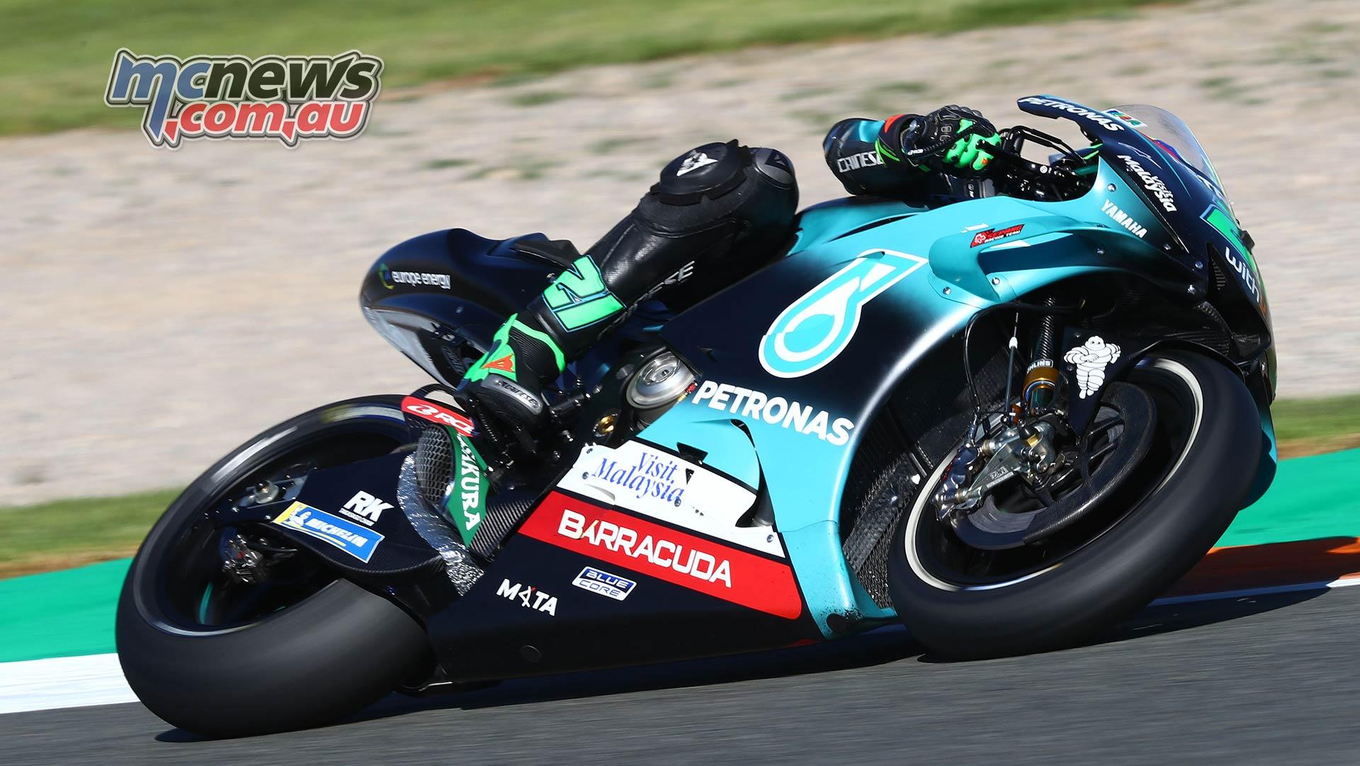 MotoGP Testing Valencia Day Morbidelli
