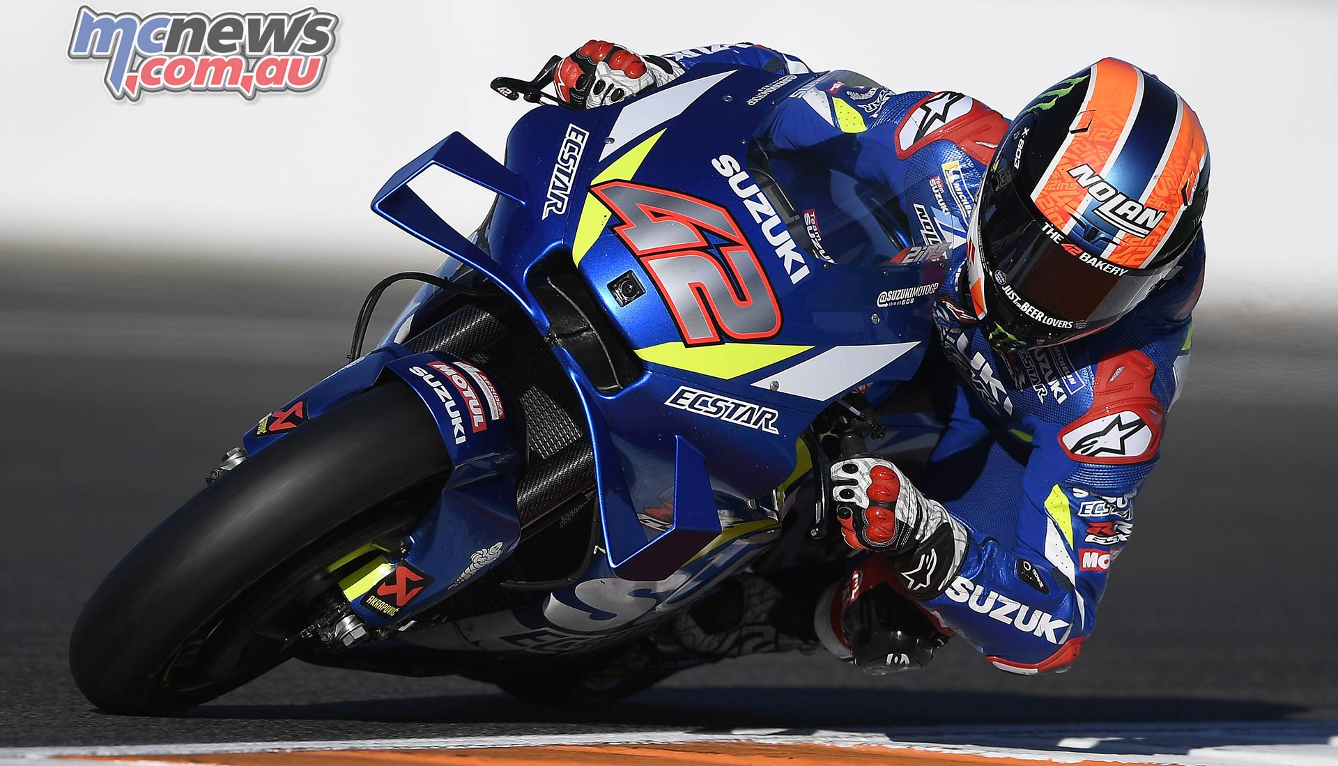 MotoGP Testing Valencia Day Rins