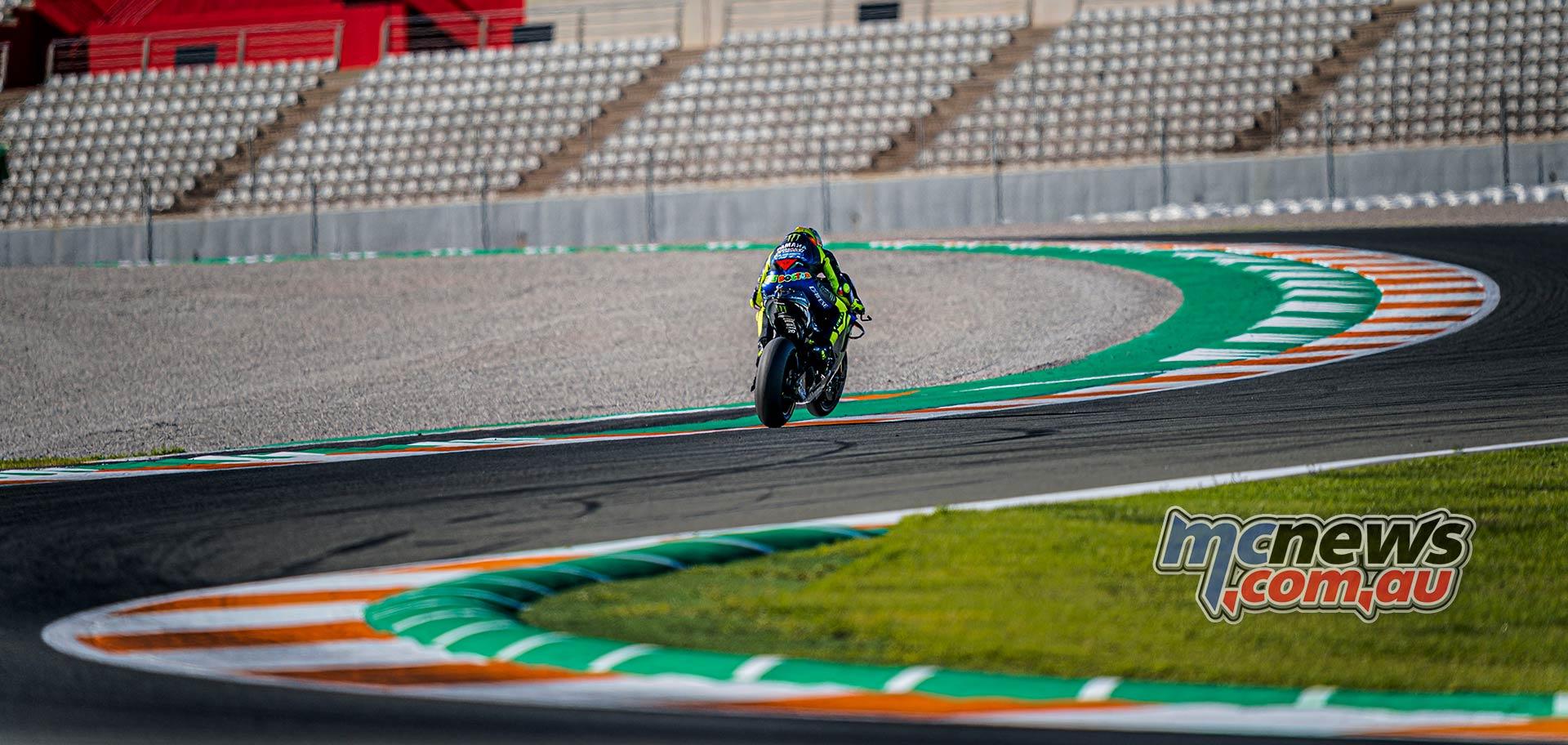 MotoGP Testing Valencia Day Valentino Rossi