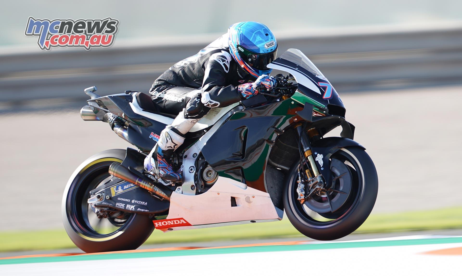 MotoGP Valencia Test Day Alex Marquez
