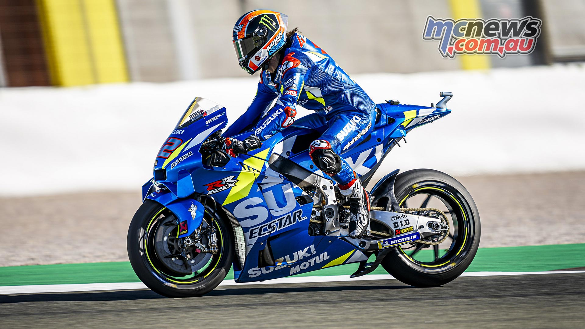 MotoGP Valencia Test Day Alex Rins