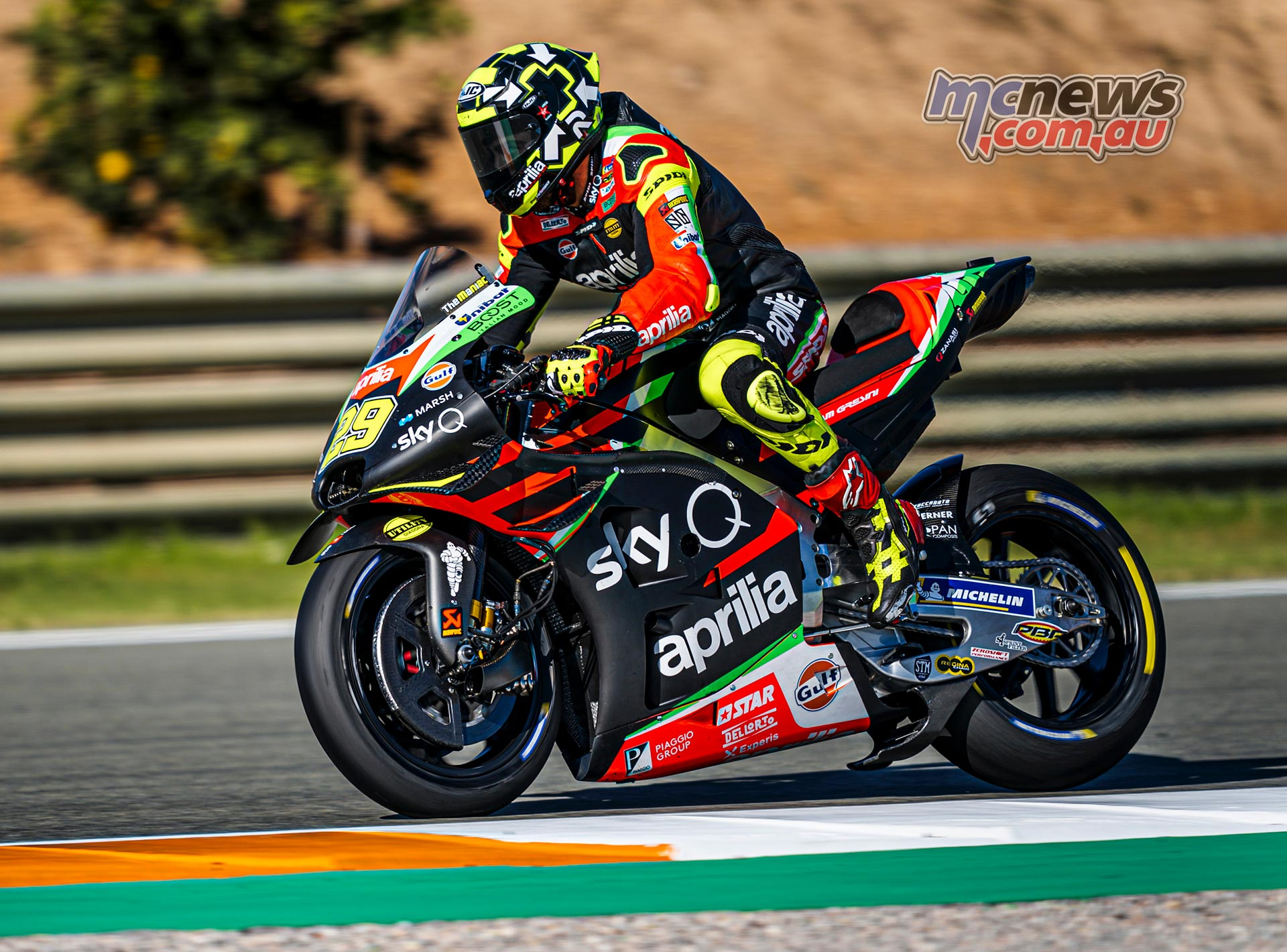 MotoGP Valencia Test Day Andrea Iannone