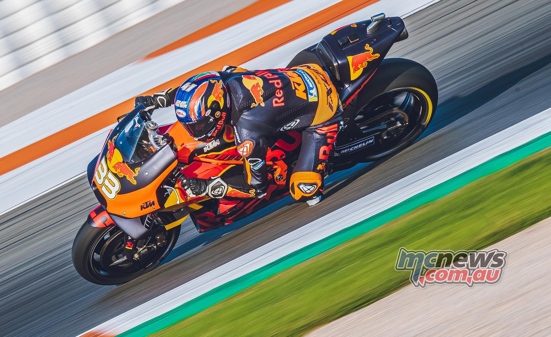 MotoGP Valencia Test Day Binder