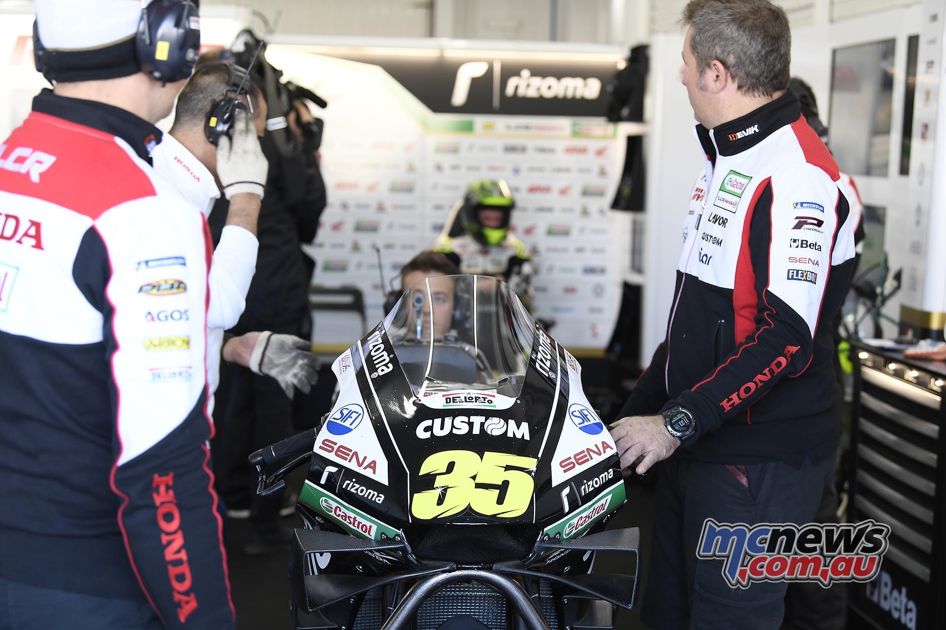 MotoGP Valencia Test Day Crutchlow