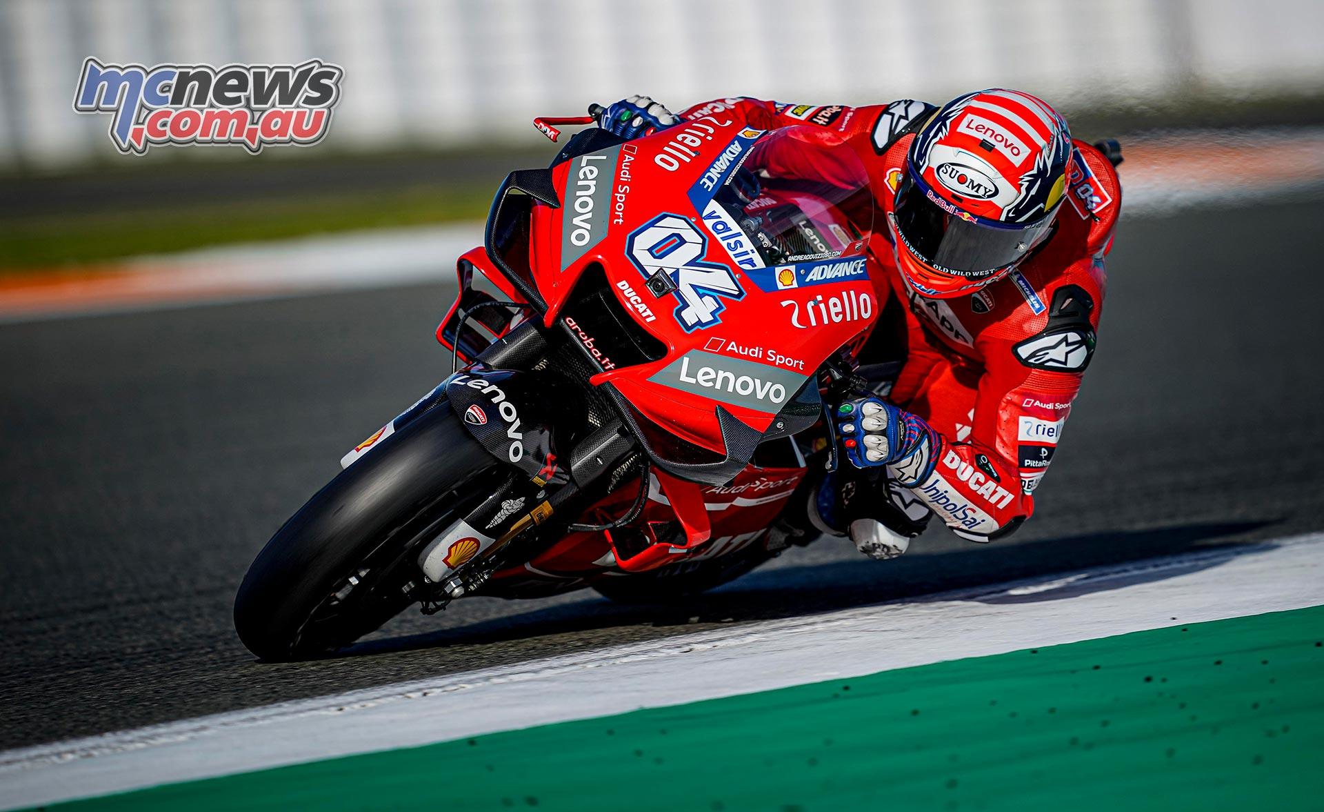 MotoGP Valencia Test Day Dovizioso