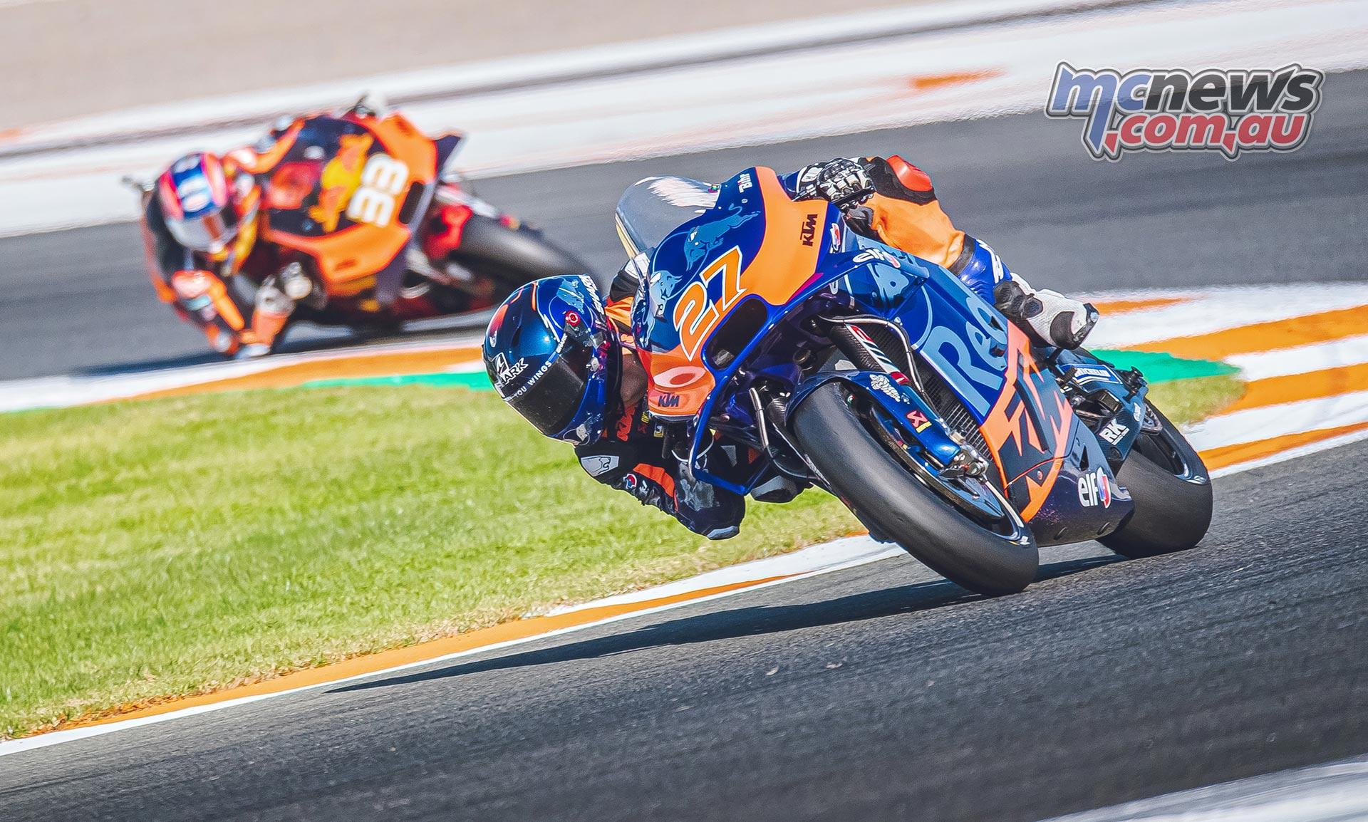 MotoGP Valencia Test Day Iker Lecuona