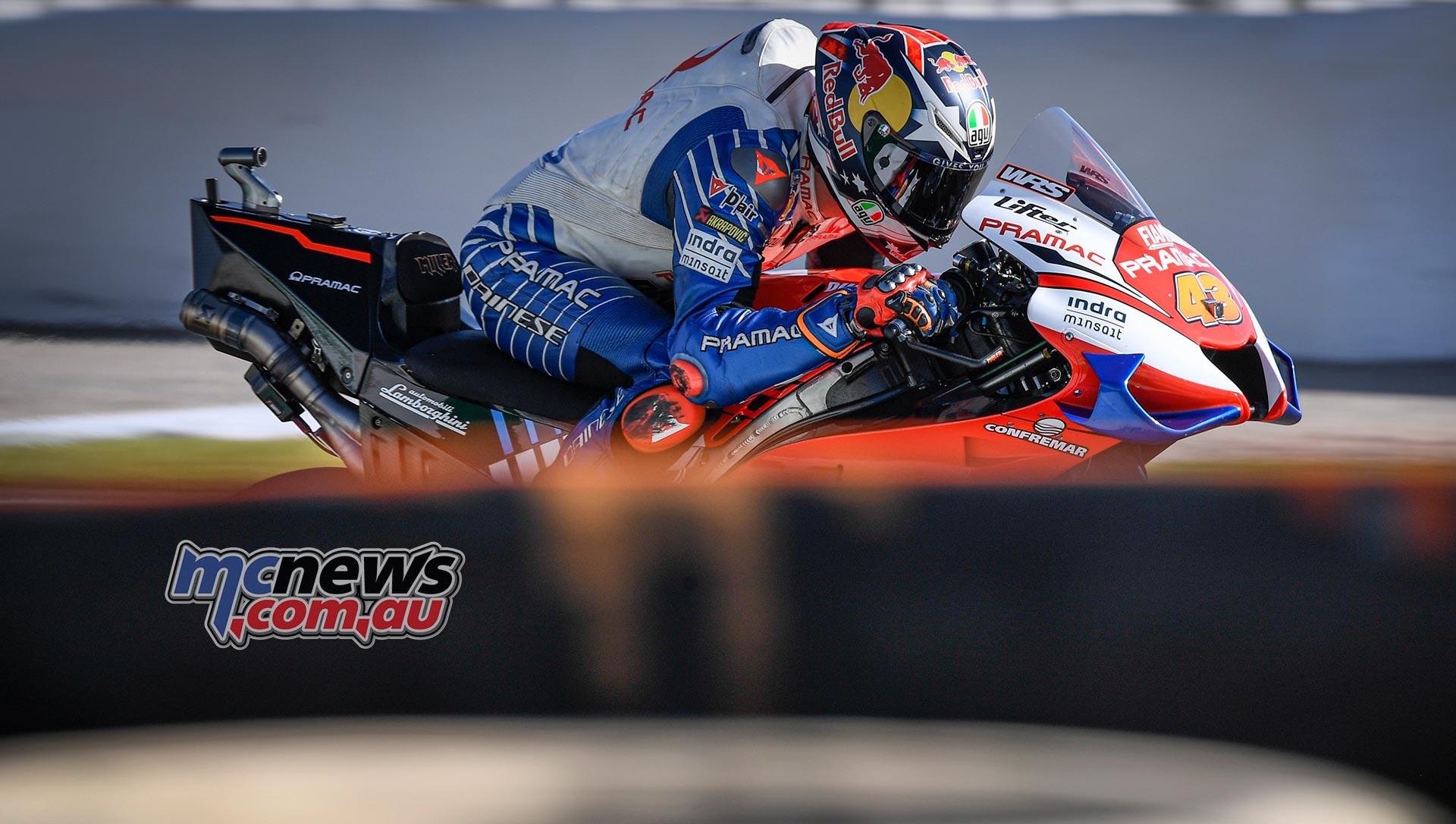 MotoGP Valencia Test Day Jack Miller
