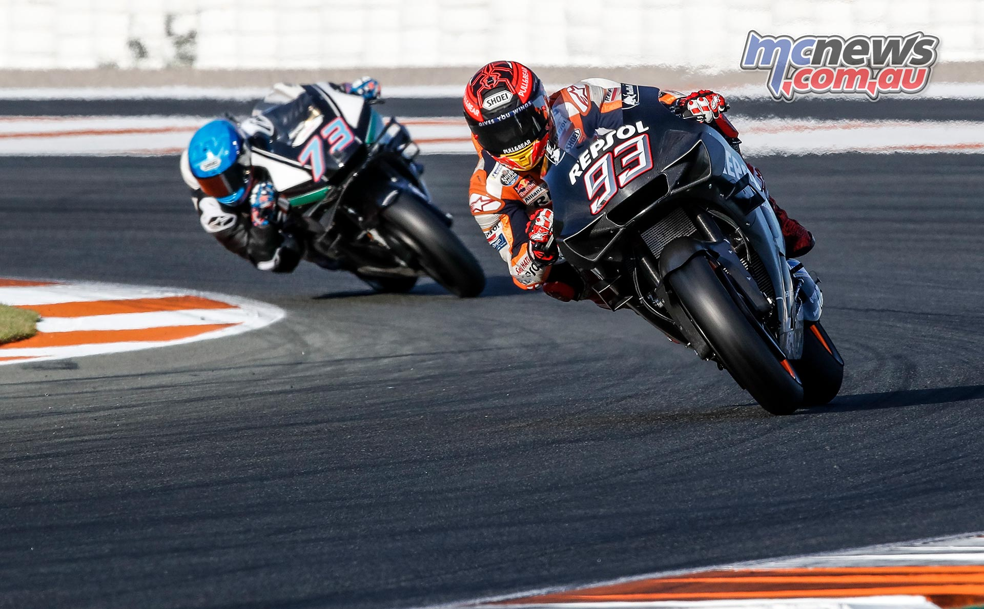 MotoGP Valencia Test Day Marquez Brothers
