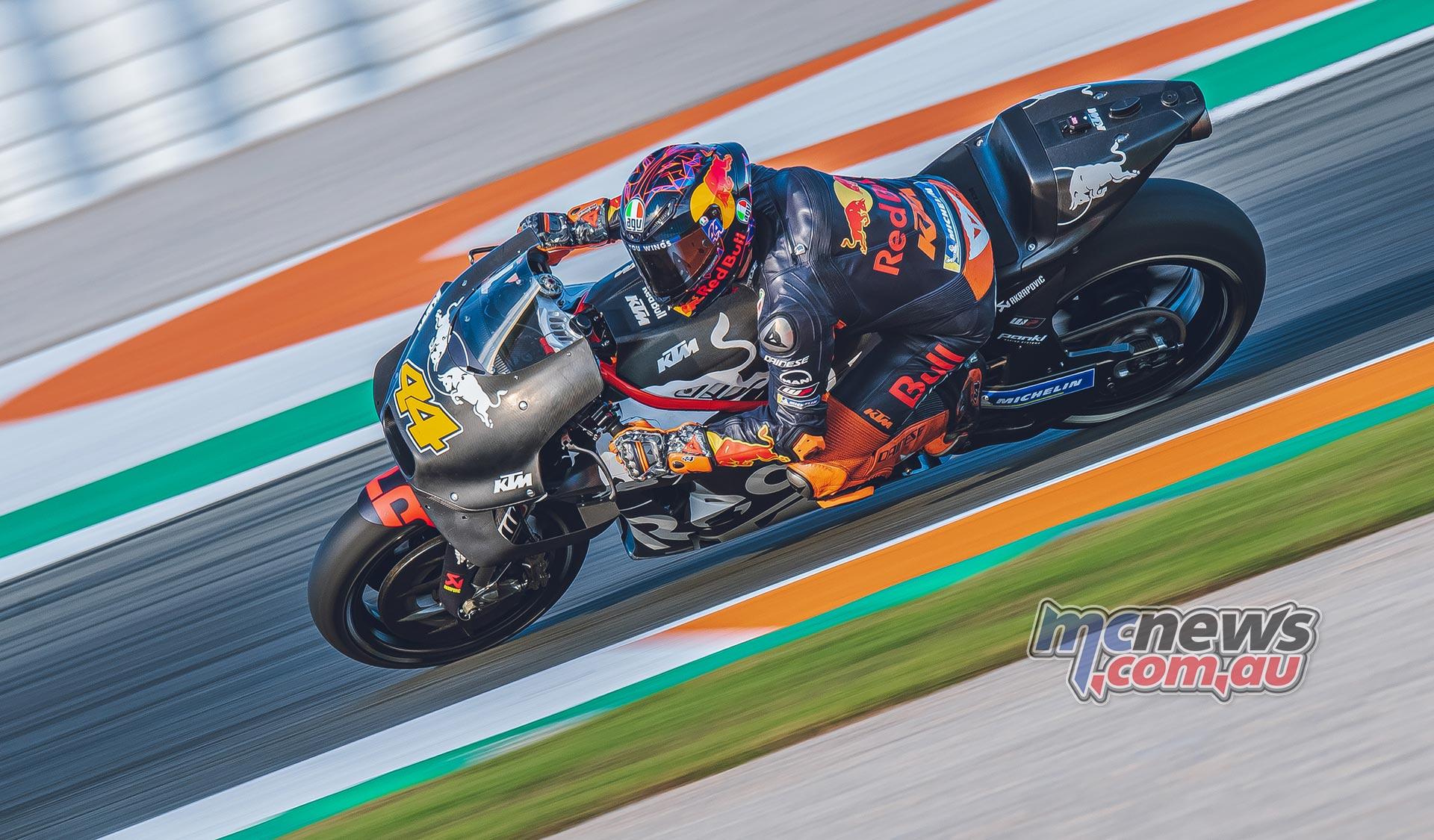 MotoGP Valencia Test Day Pol Espargaro