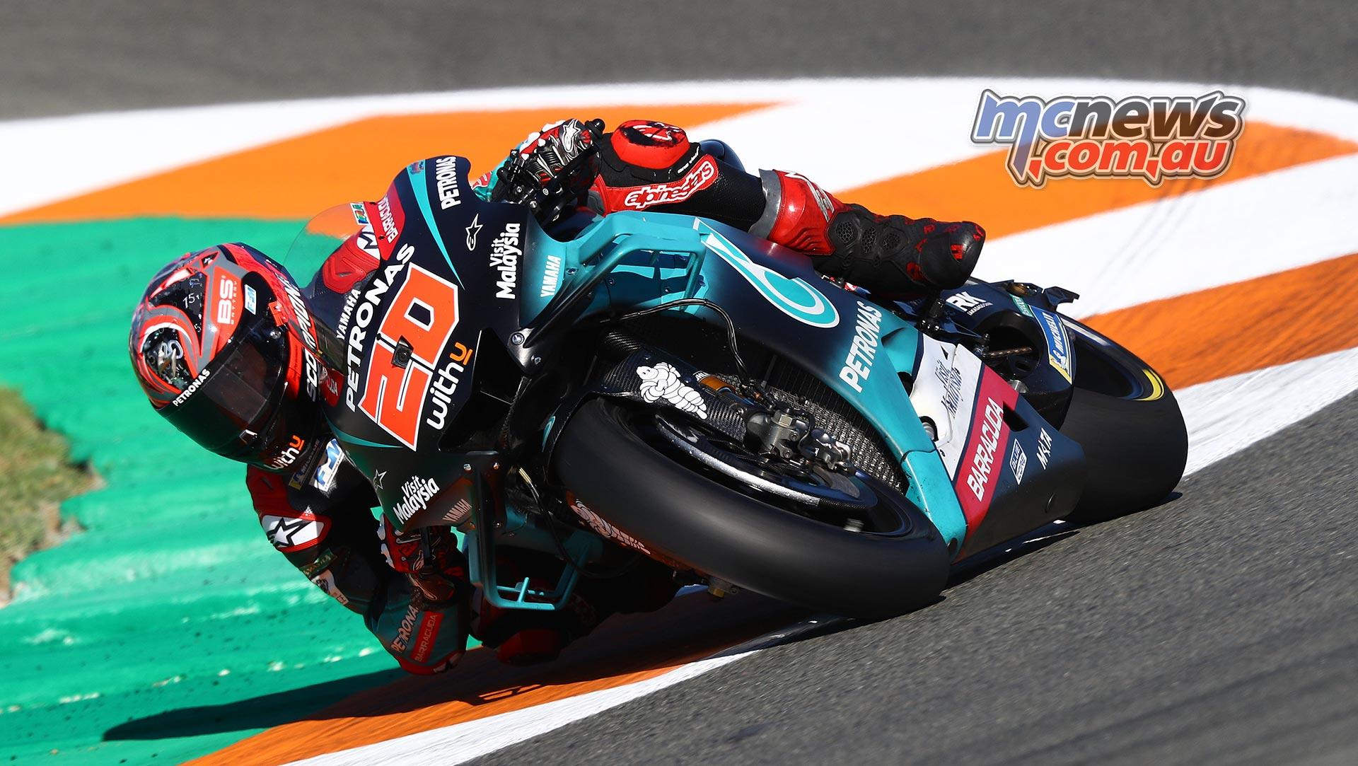 MotoGP Valencia Test Day Quartararo