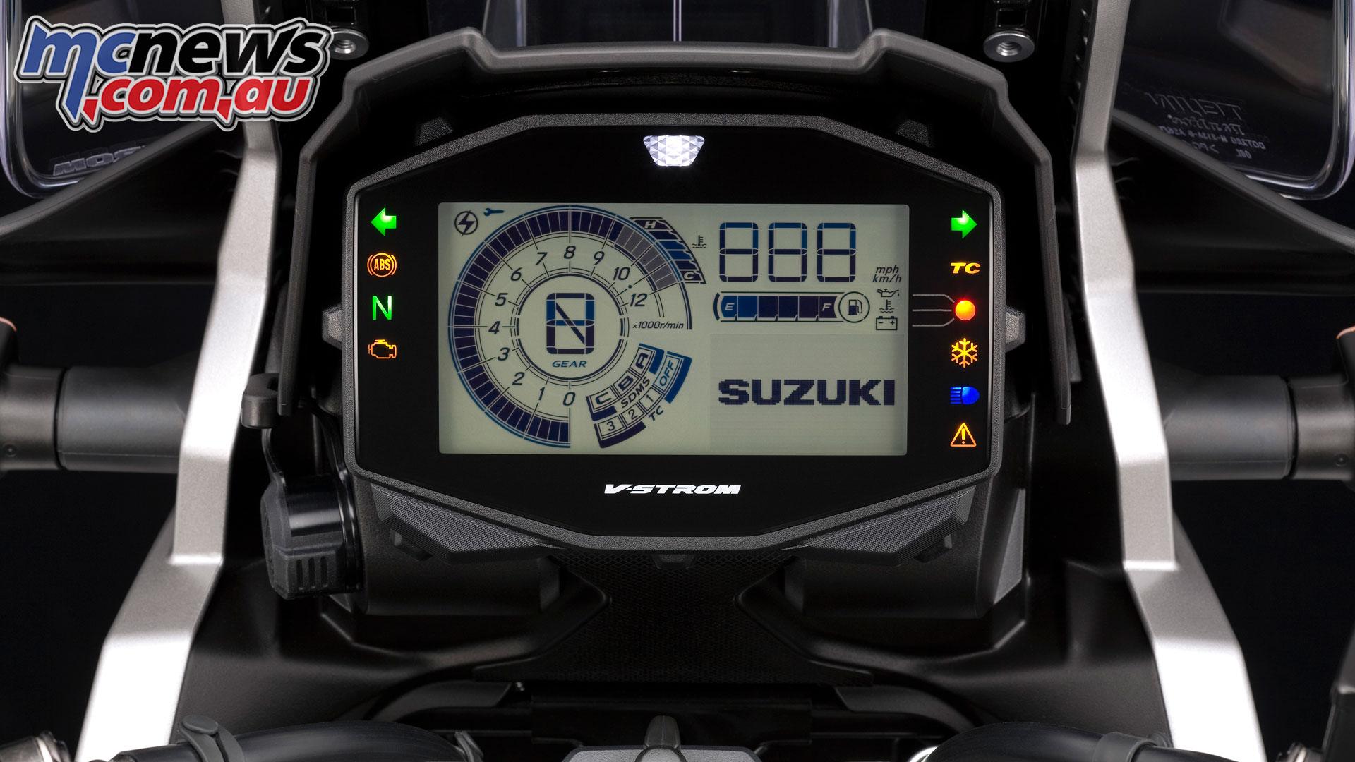 Suzuki V Strom DLRQM meter