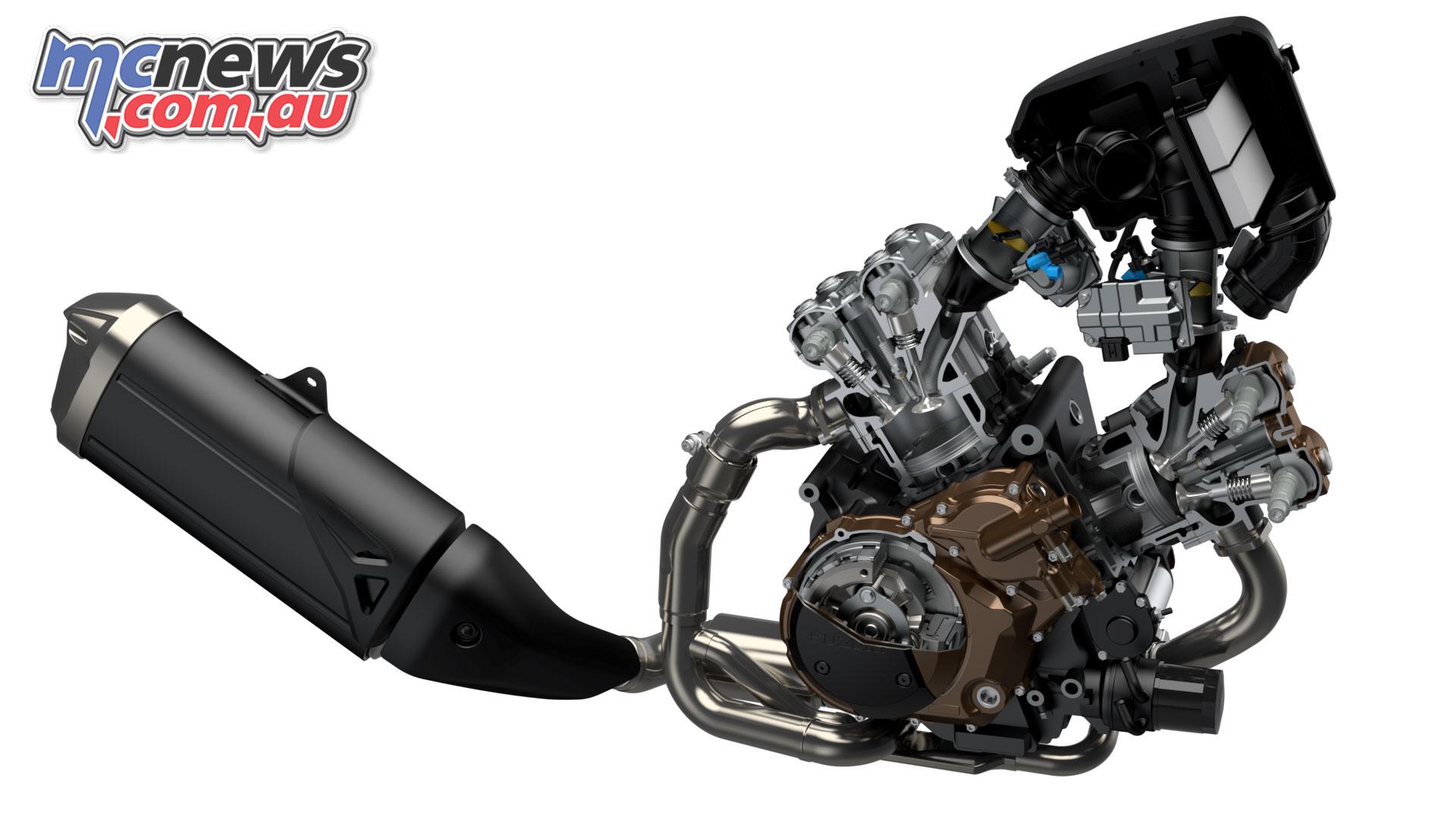 Suzuki V Strom XT DLRCM engine
