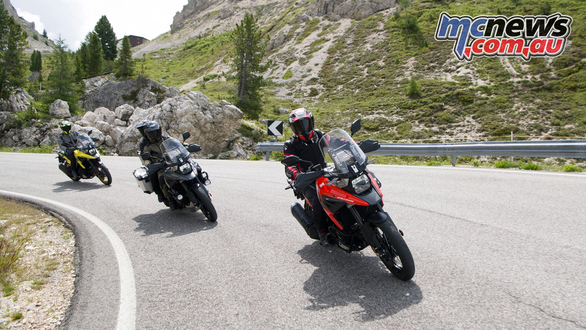 Suzuki V Strom XT DLRQ RCM Action
