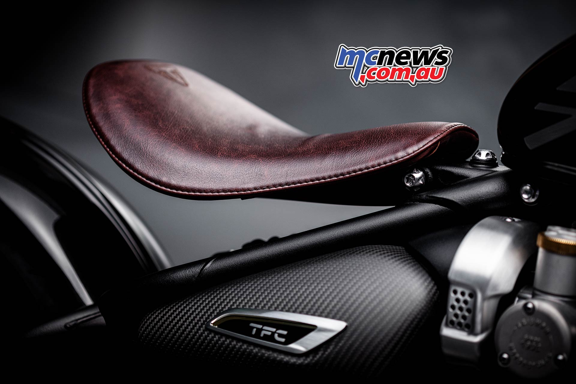 Triumph Bobber TFC Leather Seat
