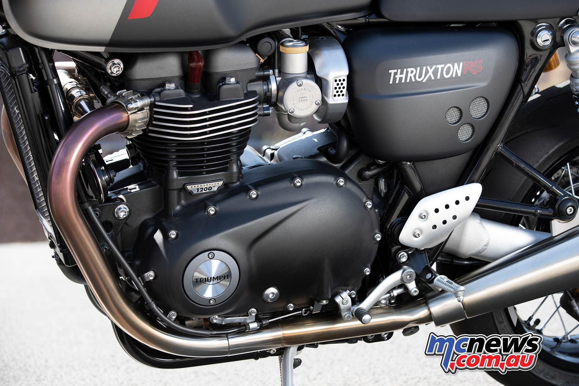 Triumph Thruxton RS Engine