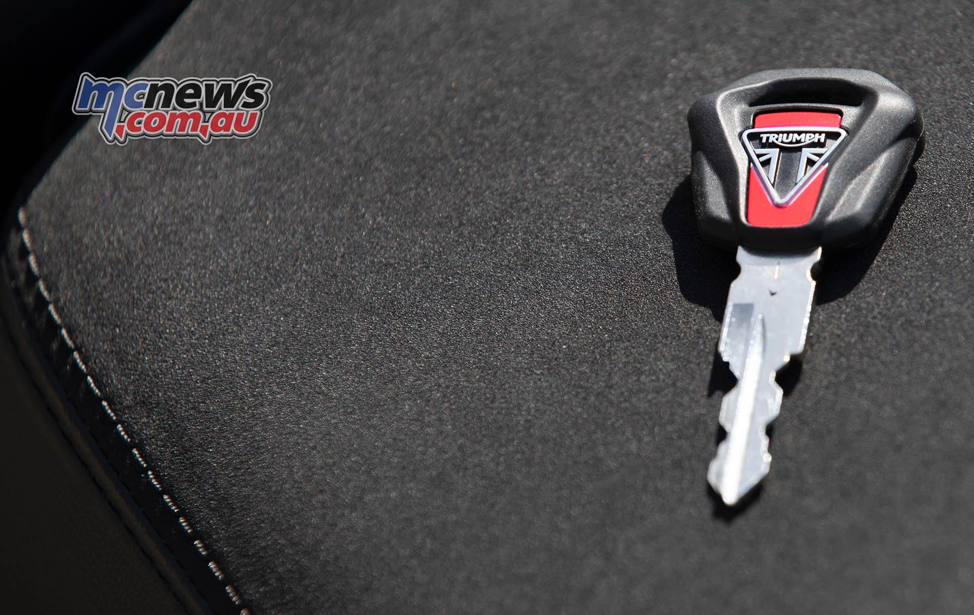 Triumph Thruxton RS Key