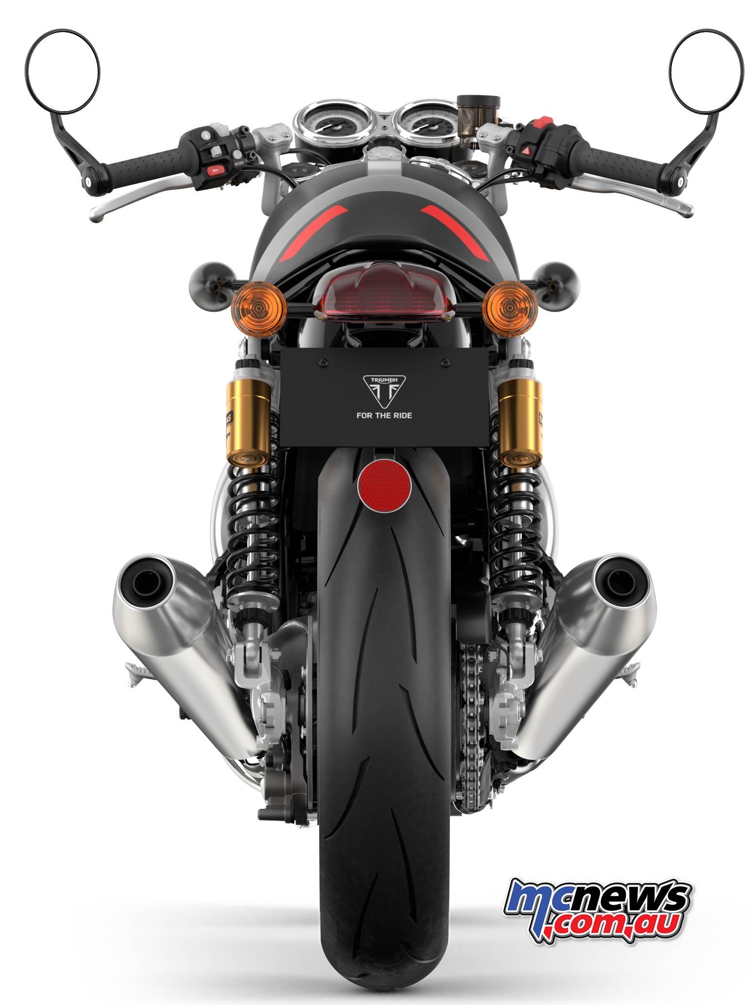 Triumph Thruxton RS MattStormGrey MattSilverIce