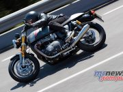Triumph Thruxton RS Scene