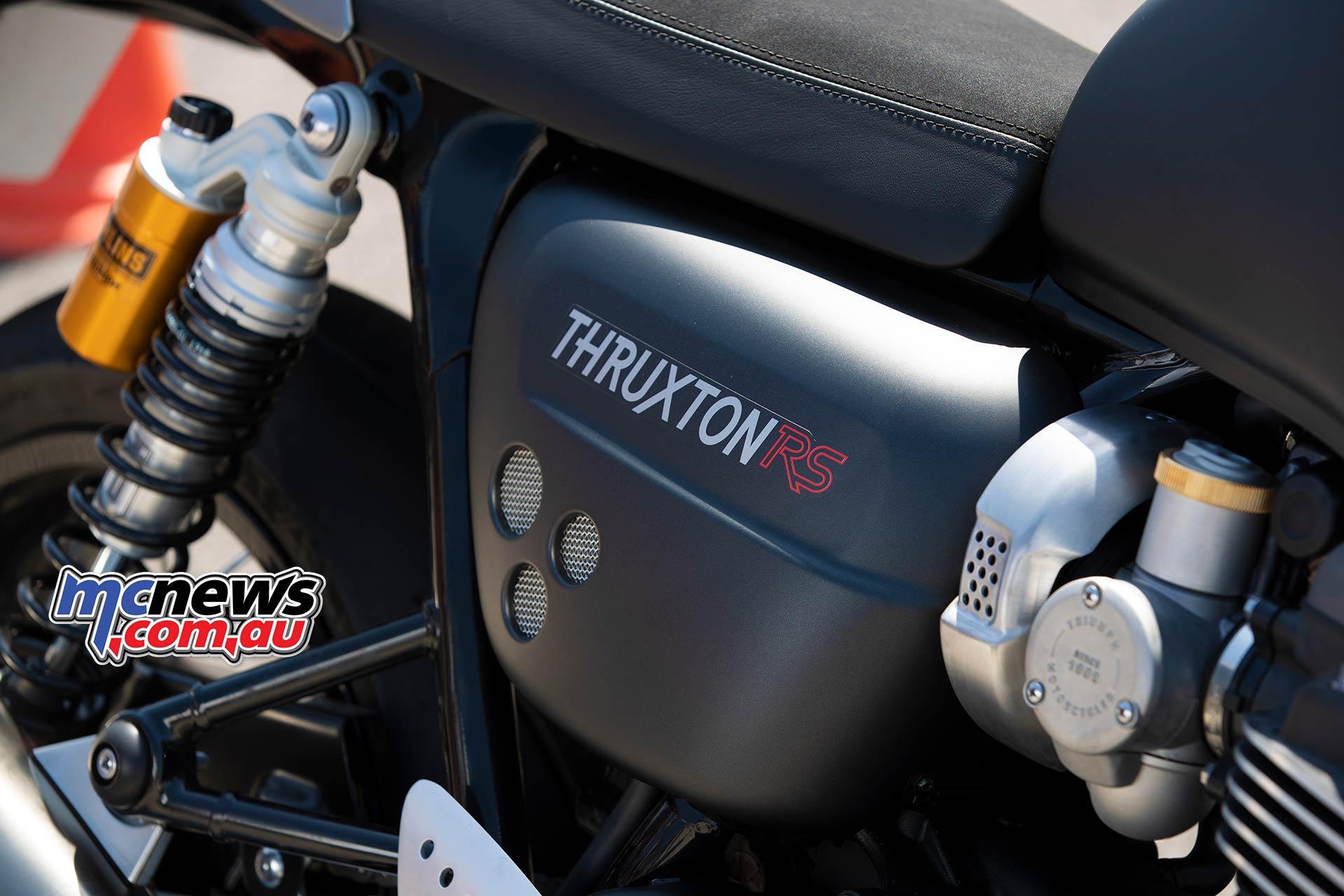 Triumph Thruxton RS SidePanel