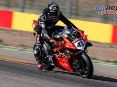 WorldSBK Test Nov Aragon Day Scott Redding
