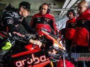 WorldSBK Test Nov Aragon Day Scott Redding