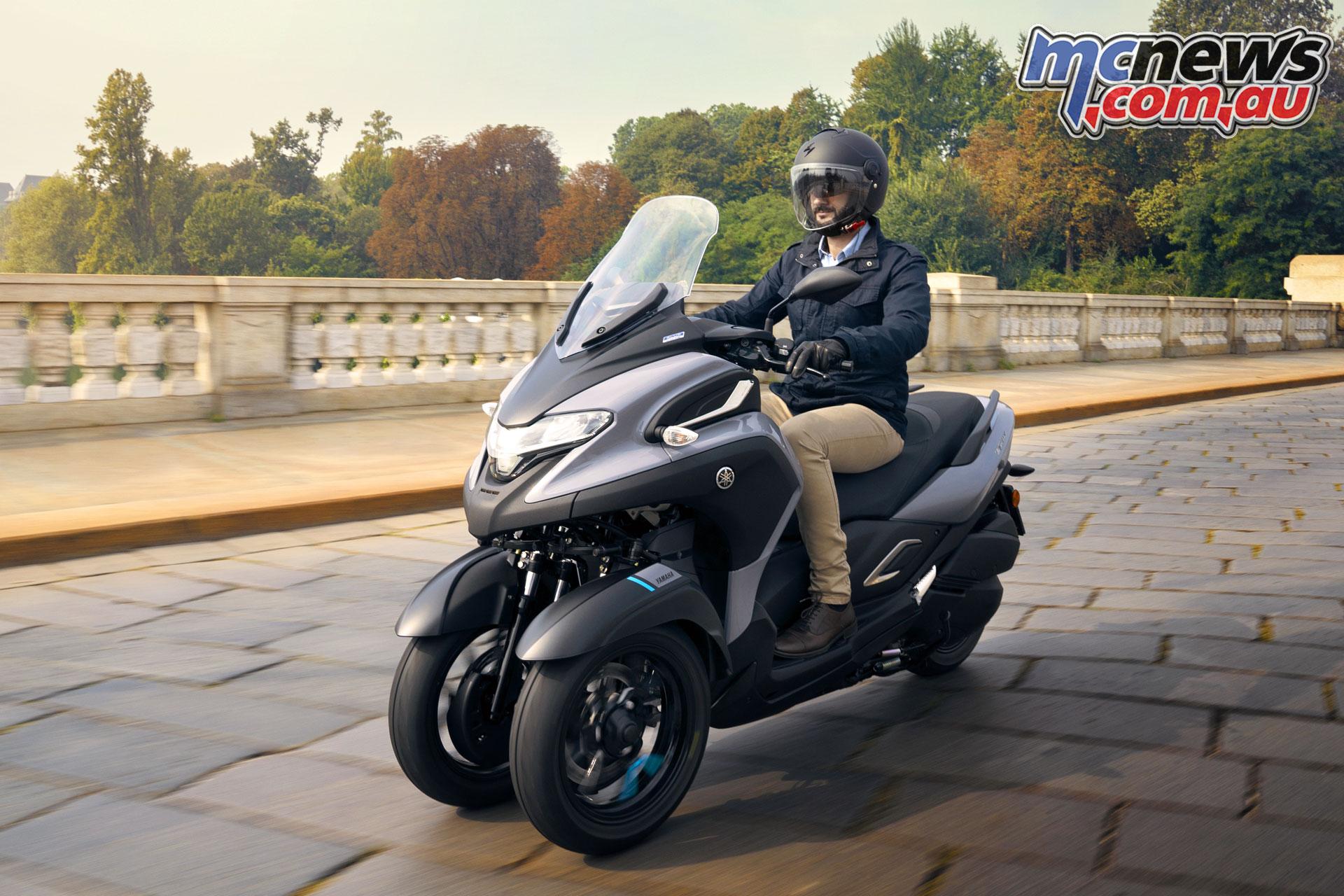 Yamaha Tricity MW EU BNS ACT