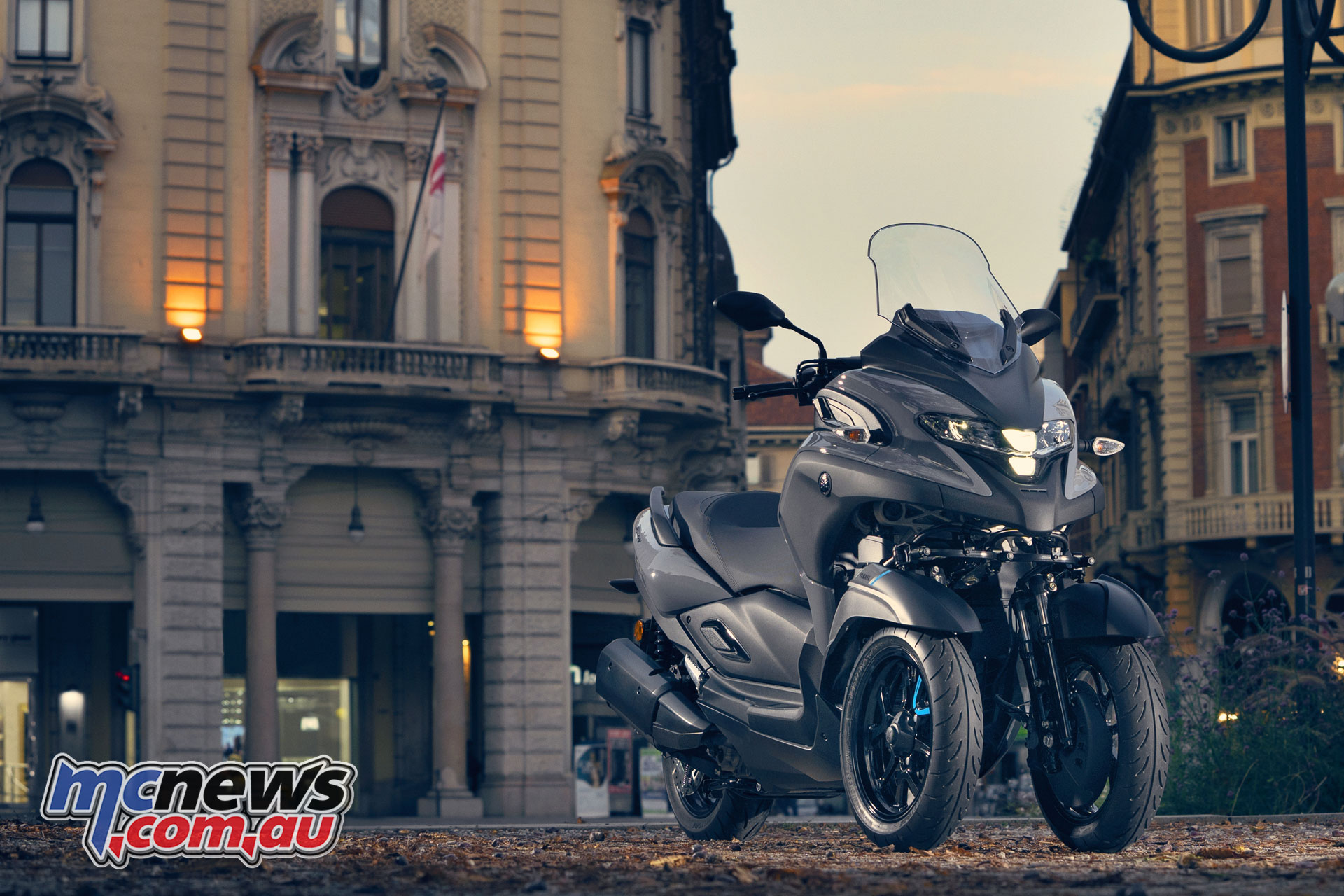 Yamaha Tricity MW EU BNS STA