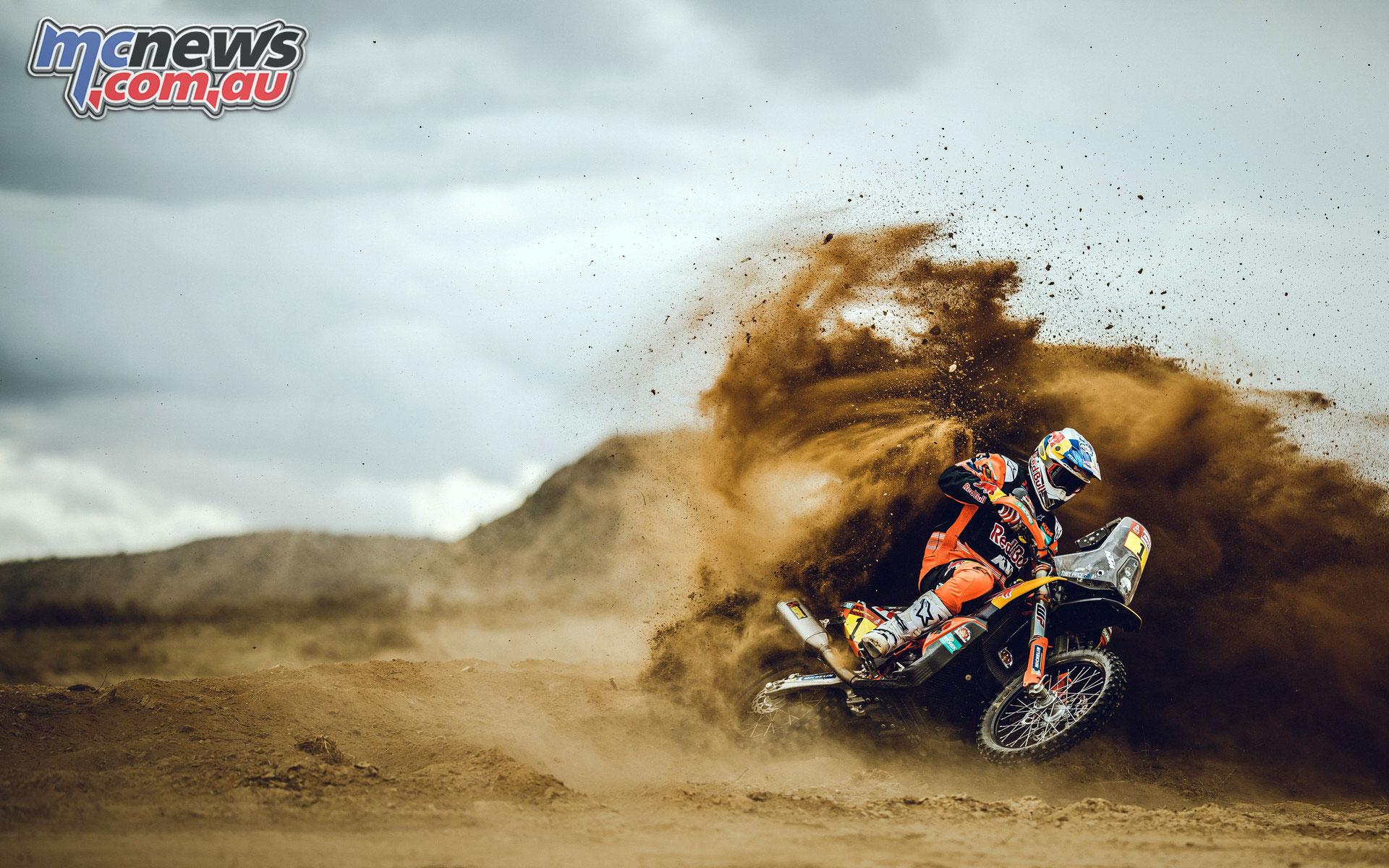 Toby Price KTM DAKAR RALLY STAGE