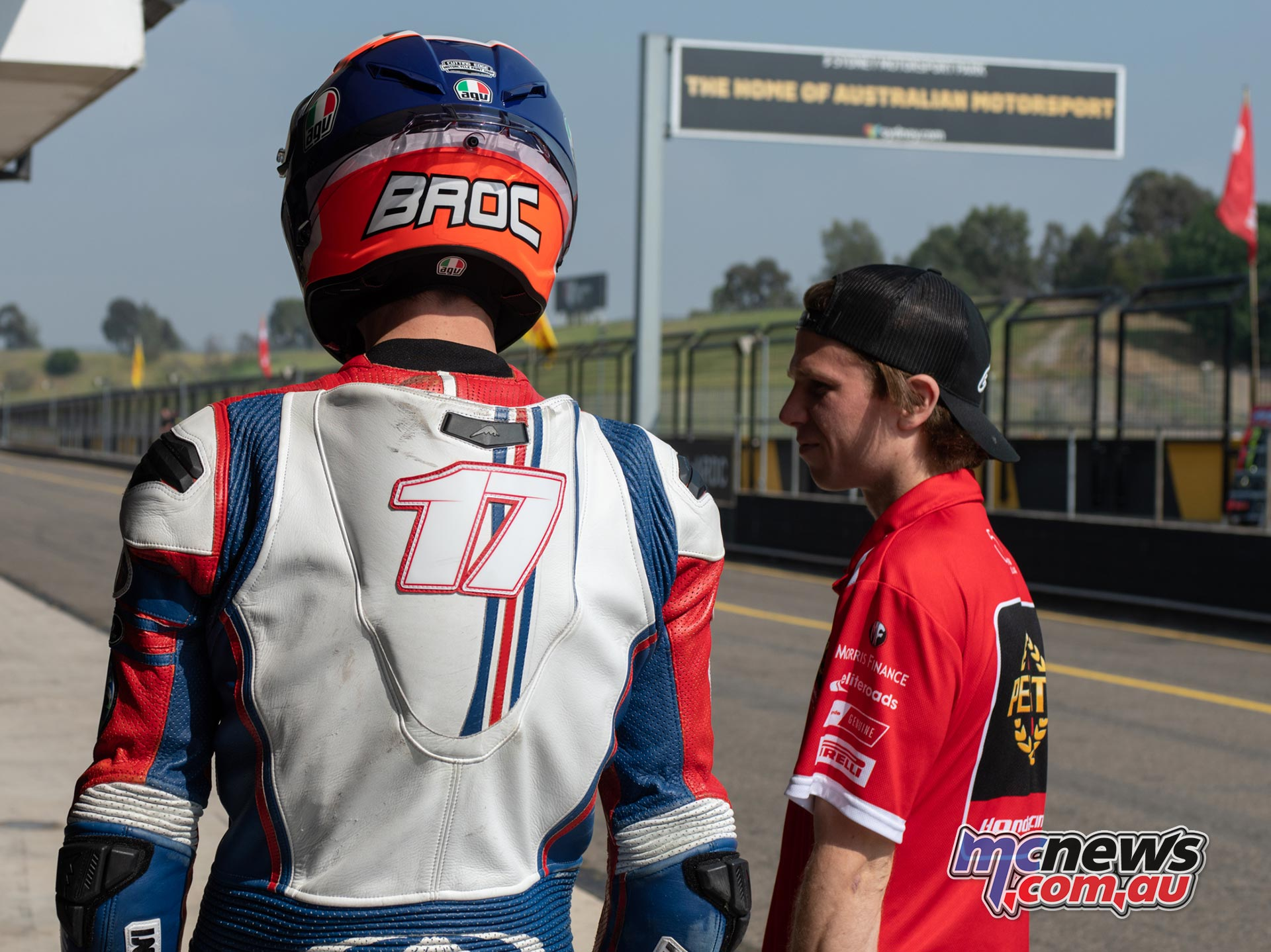 ASBK Rnd SMP RbMotoLens SS FP Pits Broc Pearson Mark Chiodo