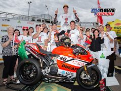 ASBK TBG Round SMP Desmo Celebration Mike Jones TBG FinalRnd Cover
