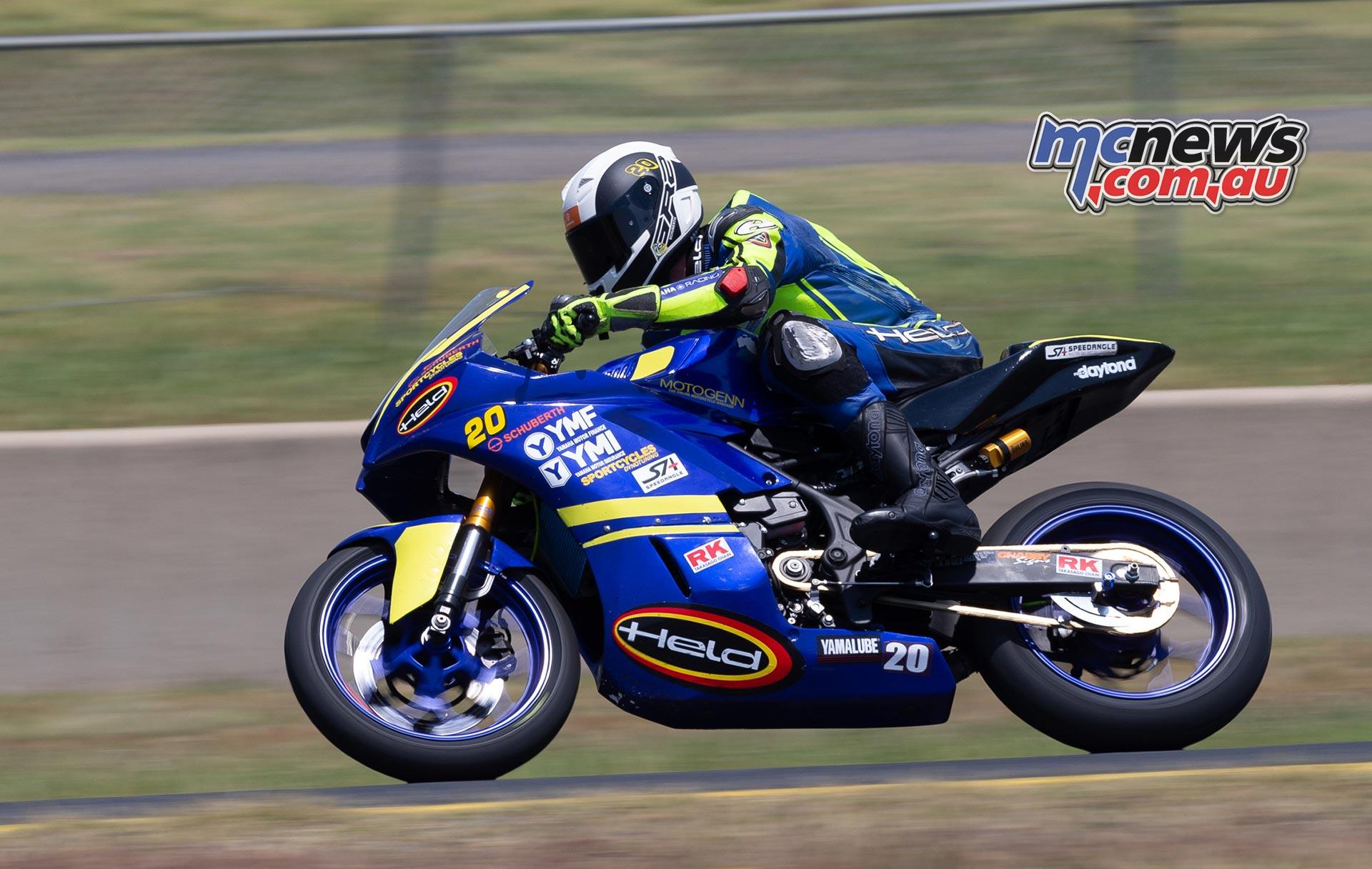 ASBK TBG Round SMP Hunter Ford TBG