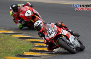ASBK TBG Round SMP SBK Race Jones Herfoss