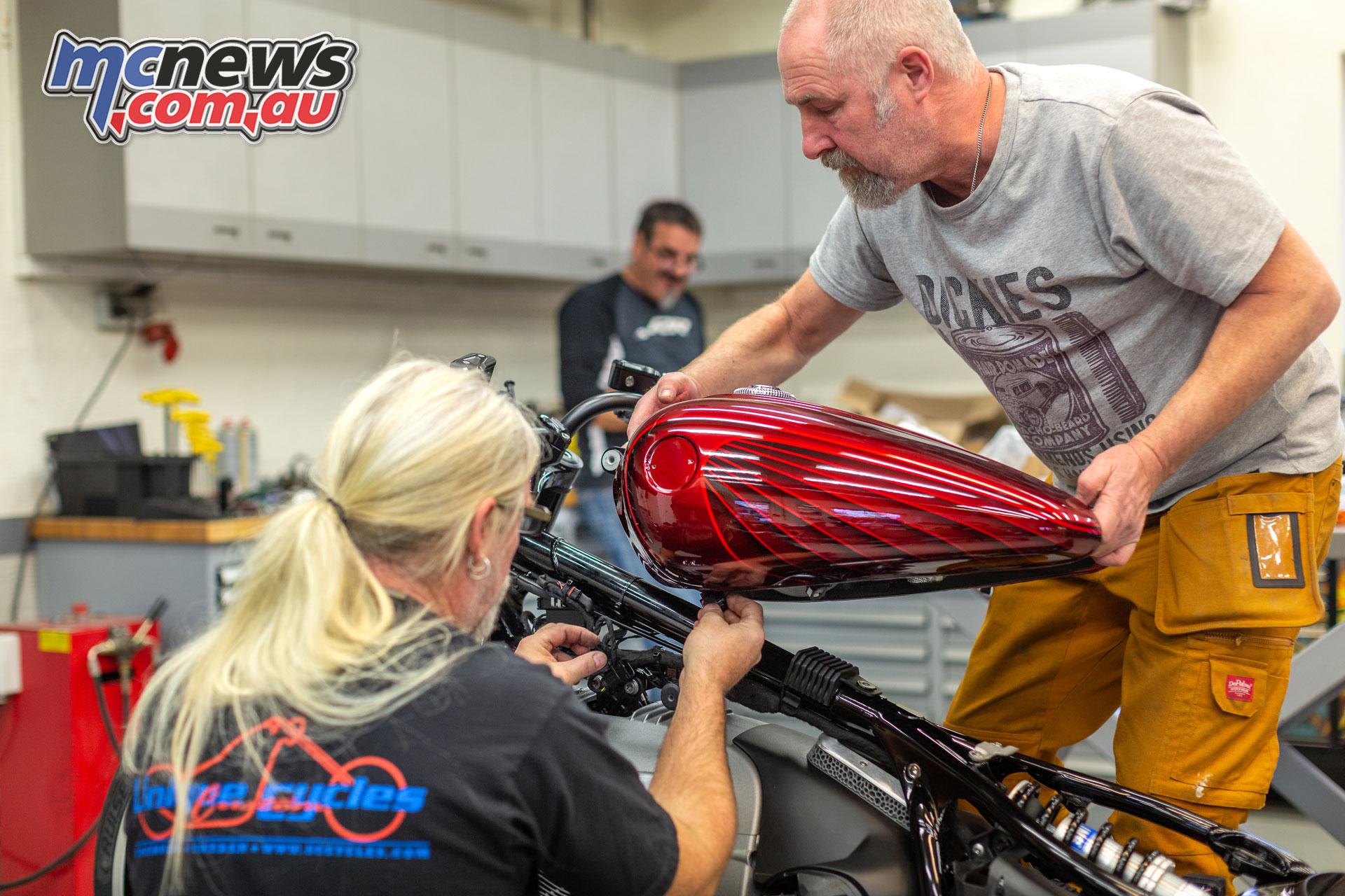 BMW Motorrad Big Boxer Cruiser Concept R