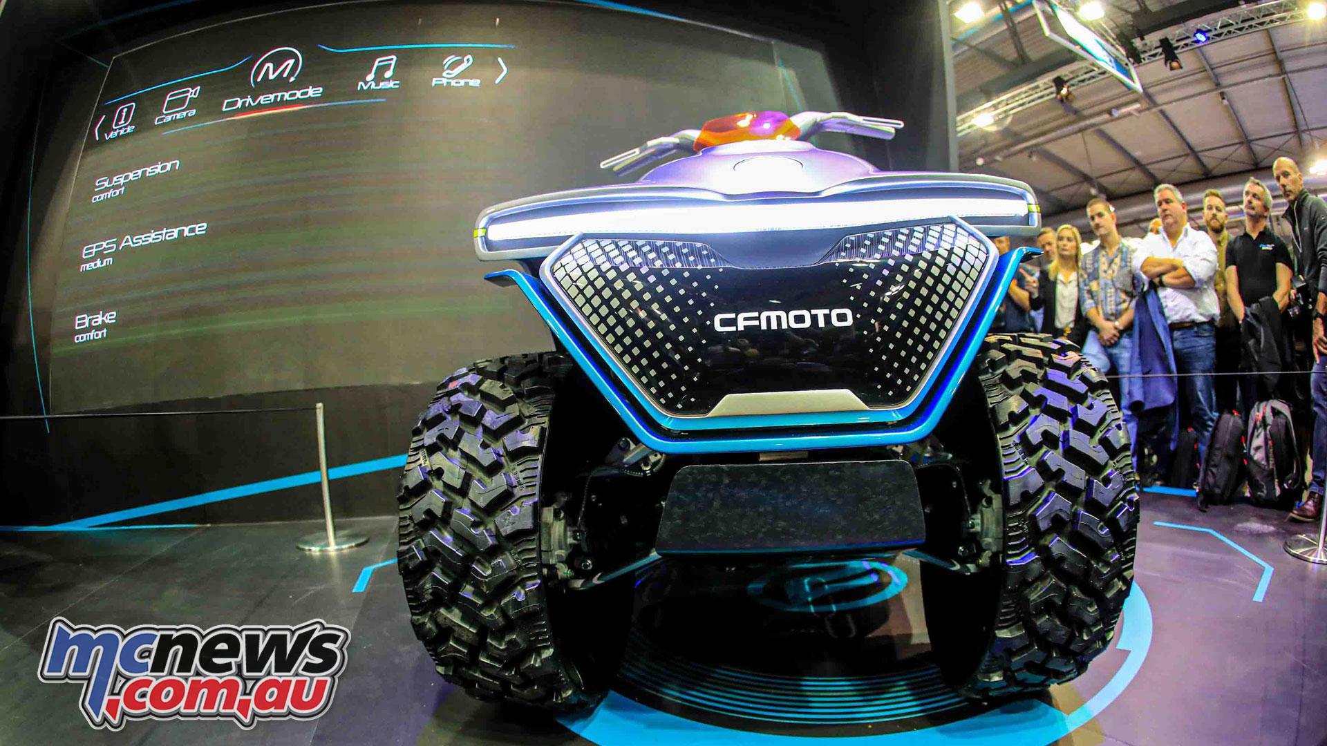CFMoto Evoltion A concept atv AEI