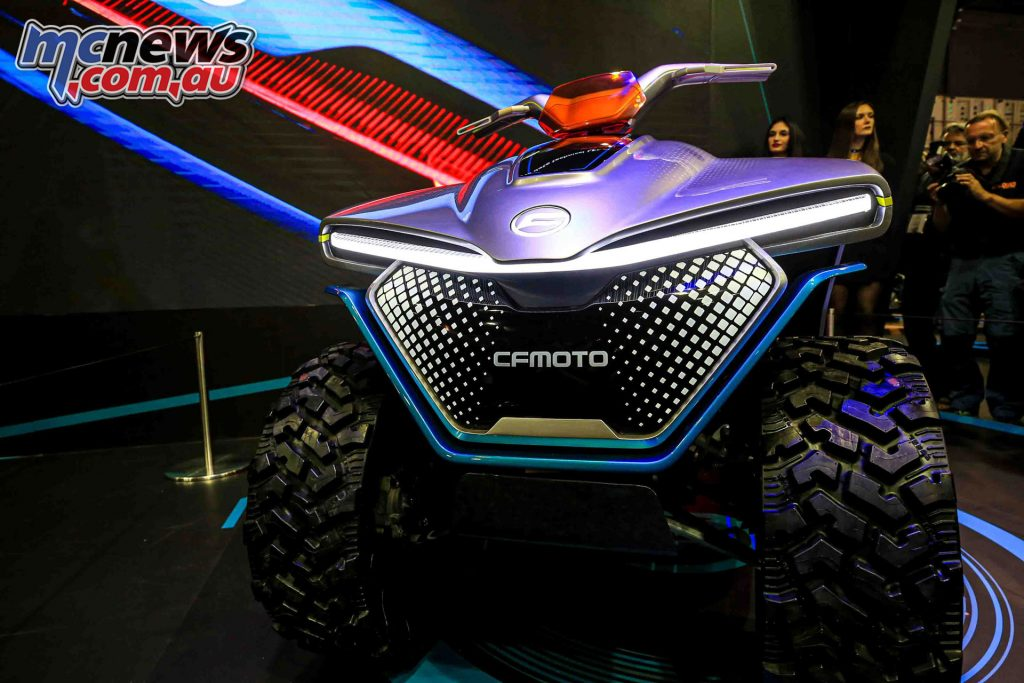 CFMoto Evoltion A concept atv BSO