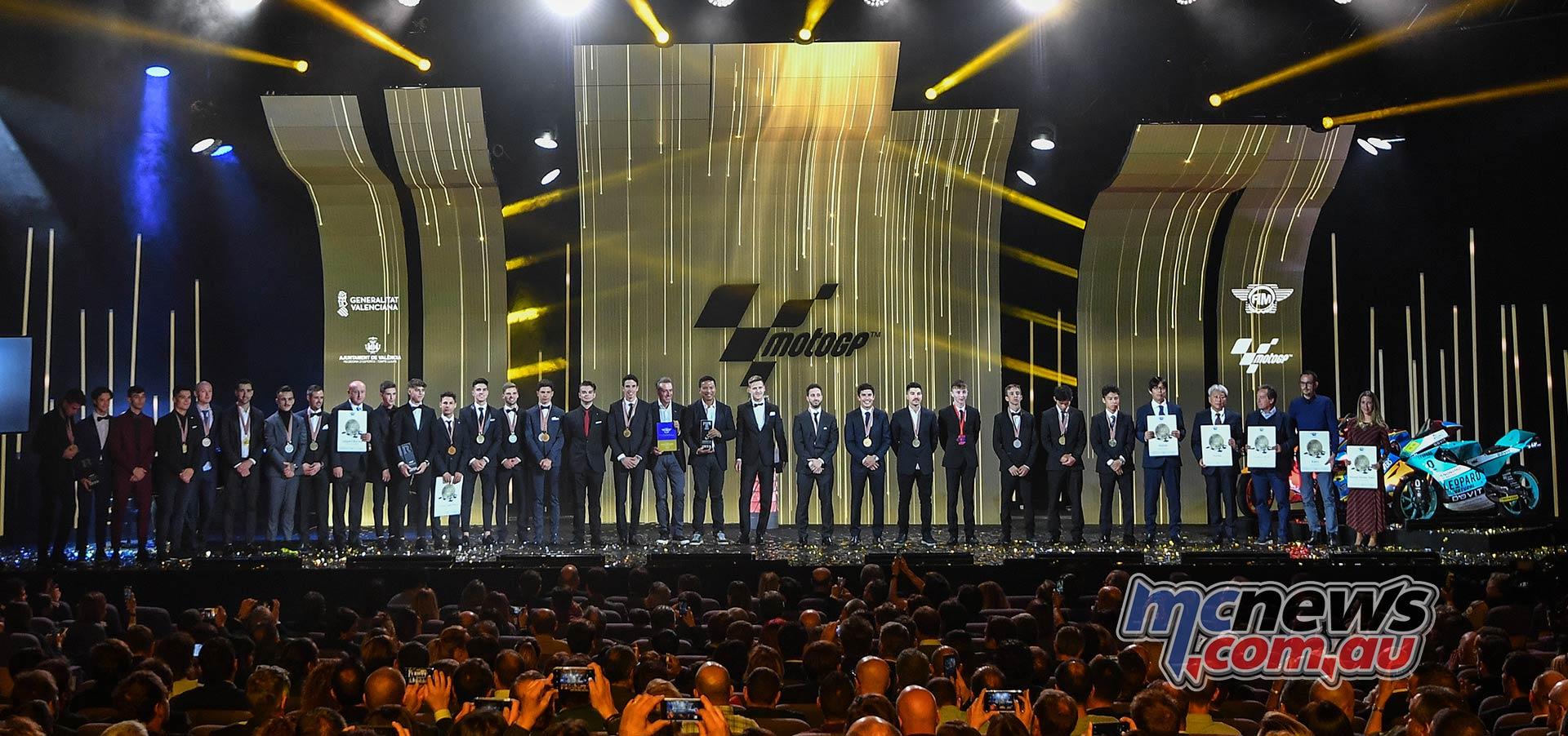 FIM MotoGP Awards Ceremony All