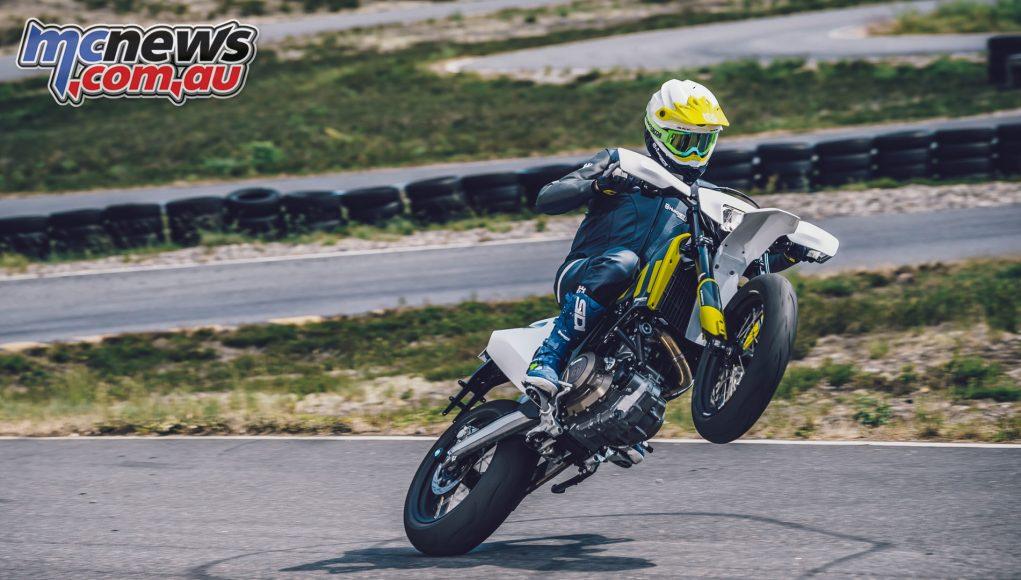 HUSQVARNA MOTORCYCLES SUPERMOTO AND ENDURO MODELS HIT DEALER FLOORS