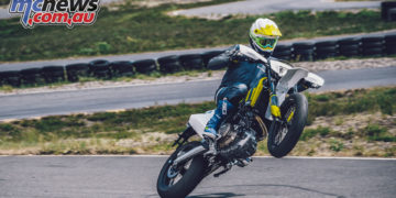 HUSQVARNA MOTORCYCLES SUPERMOTO AND ENDURO MODELS HIT DEALER FLOORS