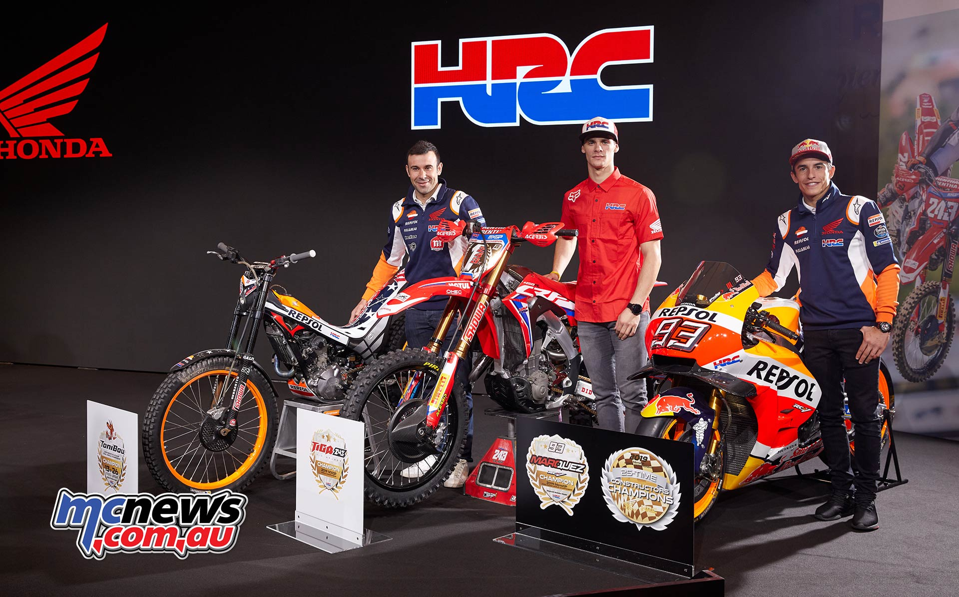 Honda Champs Bou Gajser Marquez